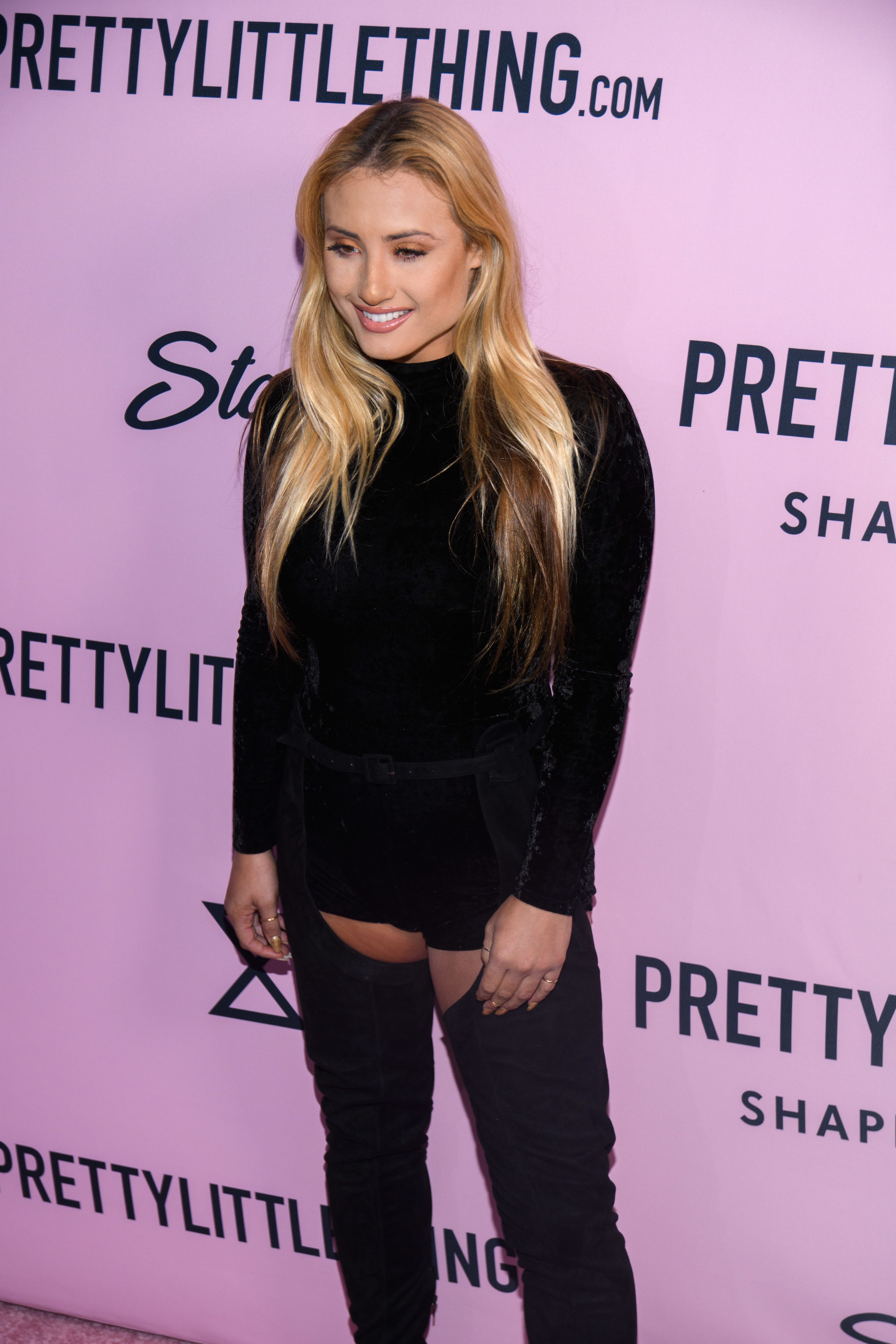 PrettyLittleThing New PLT Shape Collection with Stassie Celebrity Launch Party Montana Tucker.jpg