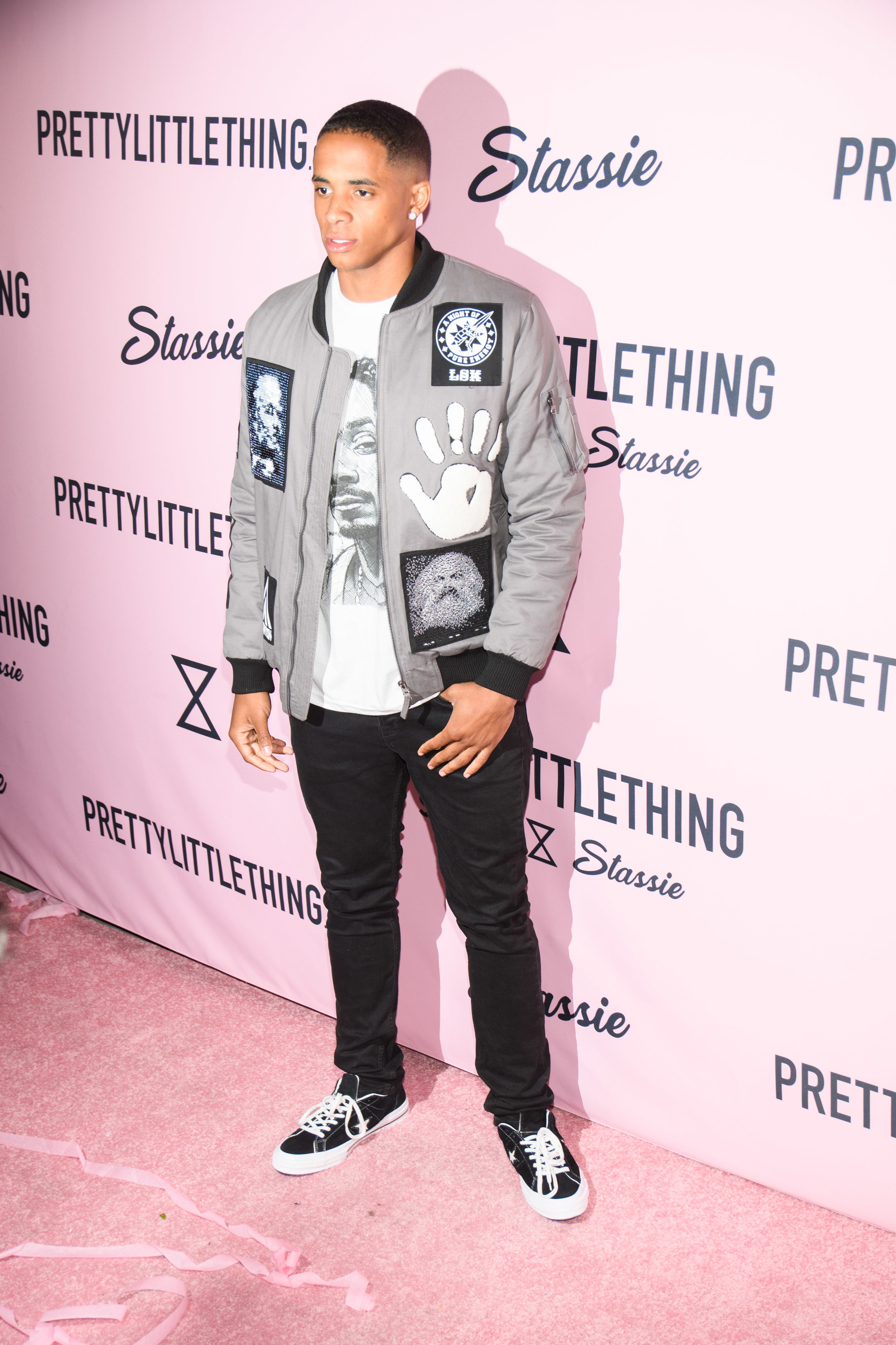 PrettyLittleThing New PLT Shape Collection with Stassie Celebrity Launch Party Snopp Doggs son Corde Broadus .jpg