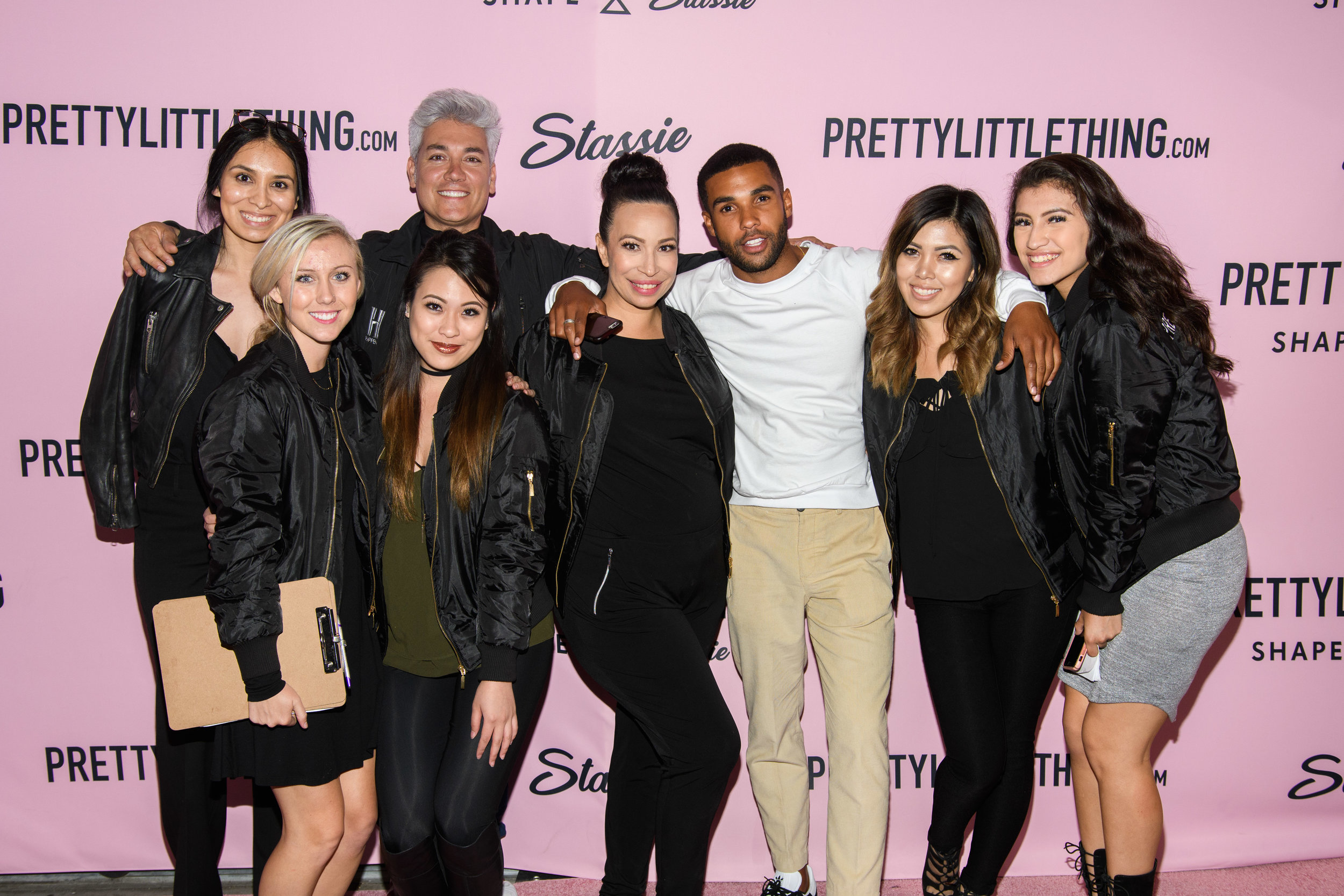 PrettyLittleThing New PLT Shape Collection with Stassie Celebrity Launch Party WOTP team and guests.jpg