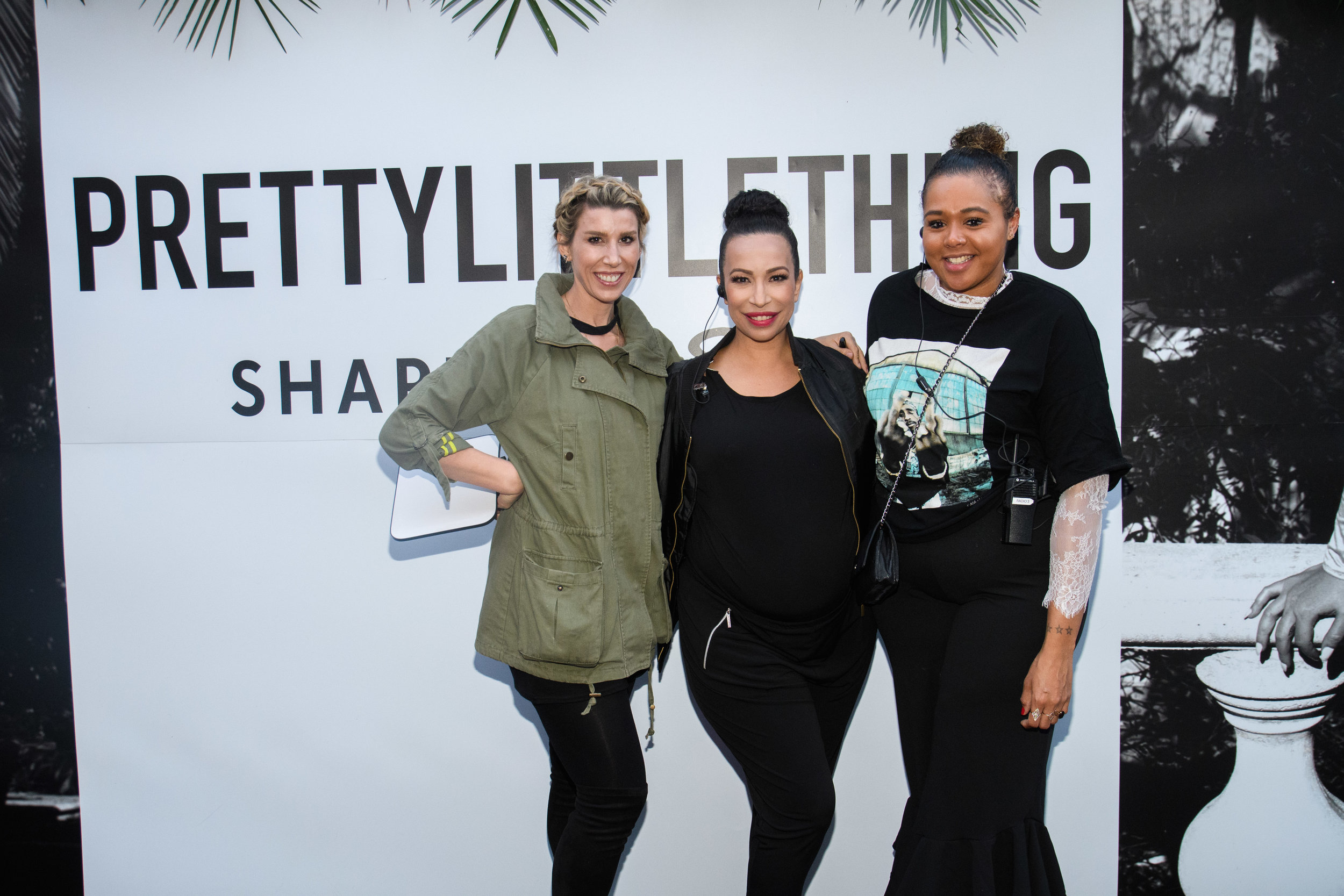 PrettyLittleThing New PLT Shape Collection with Stassie Celebrity Launch Party WOTP team.jpg
