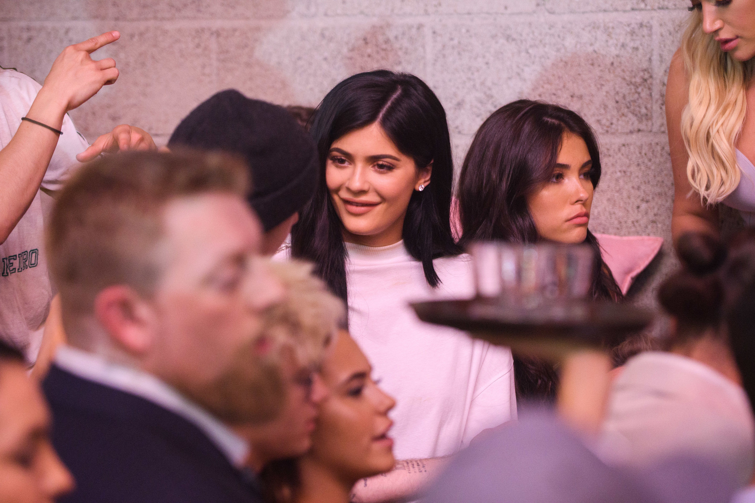 PrettyLittleThing New PLT Shape Collection with Stassie Celebrity Launch Party Kylie Jenner having fun at the party.jpg