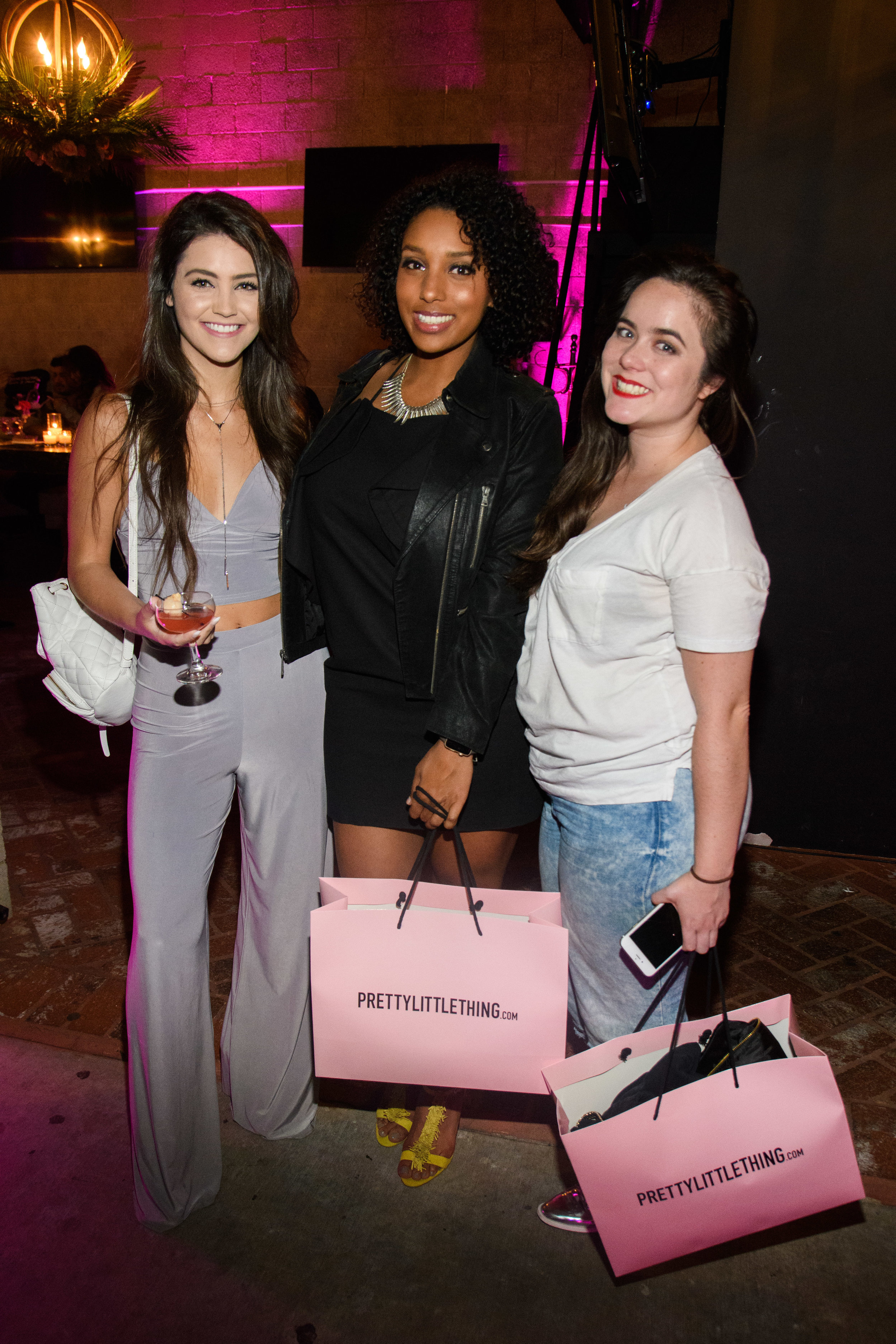 PrettyLittleThing New PLT Shape Collection with Stassie Celebrity Launch Party party guests walked away with bags from the gifting suite.jpg