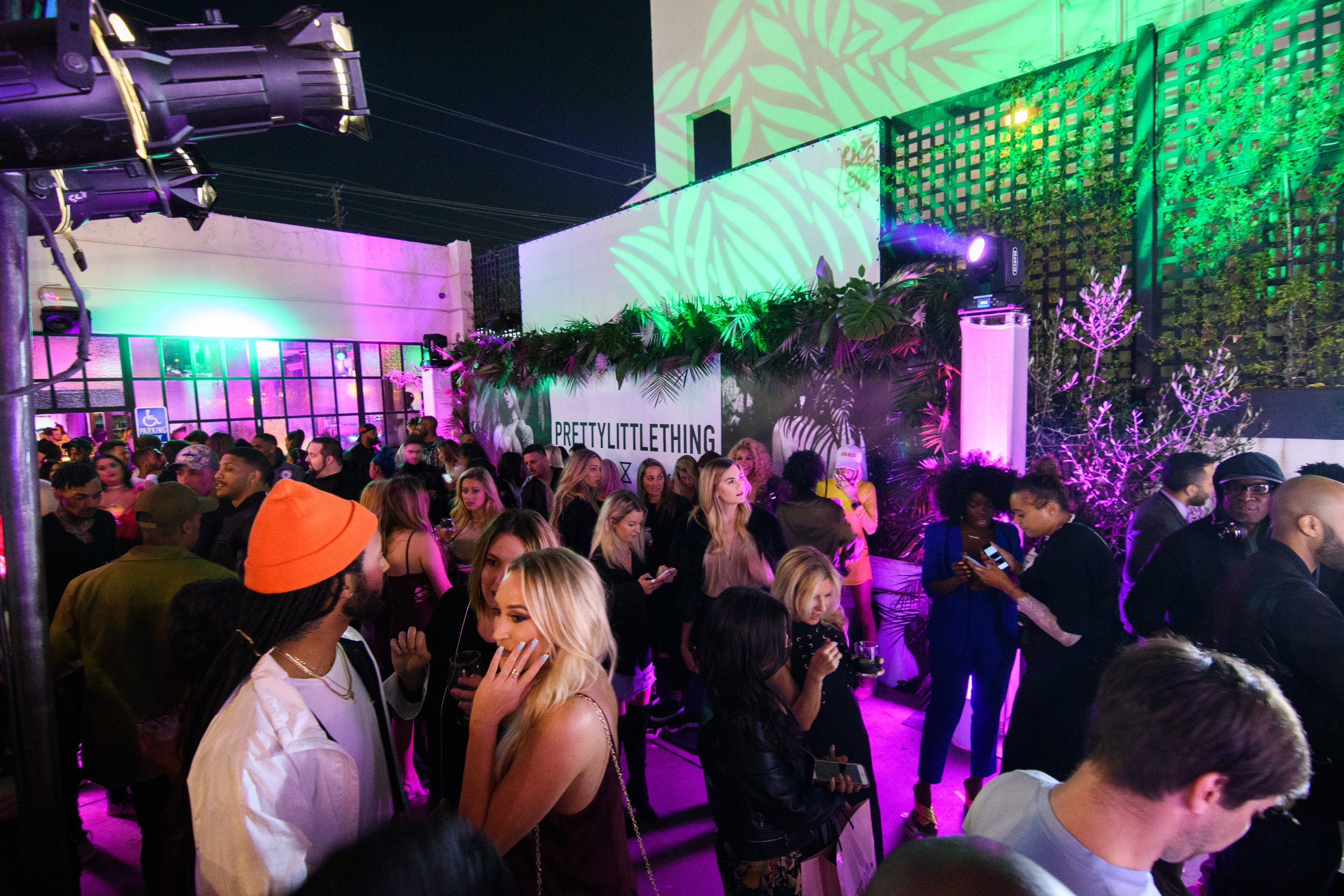 PrettyLittleThing New PLT Shape Collection with Stassie Celebrity Launch Party party outside The Phoenix LA.jpg