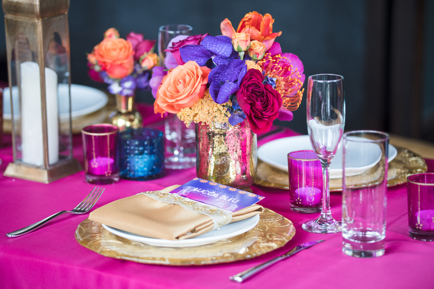 Moroccan Inspired Baby Shower Party beautiful place setting.jpg
