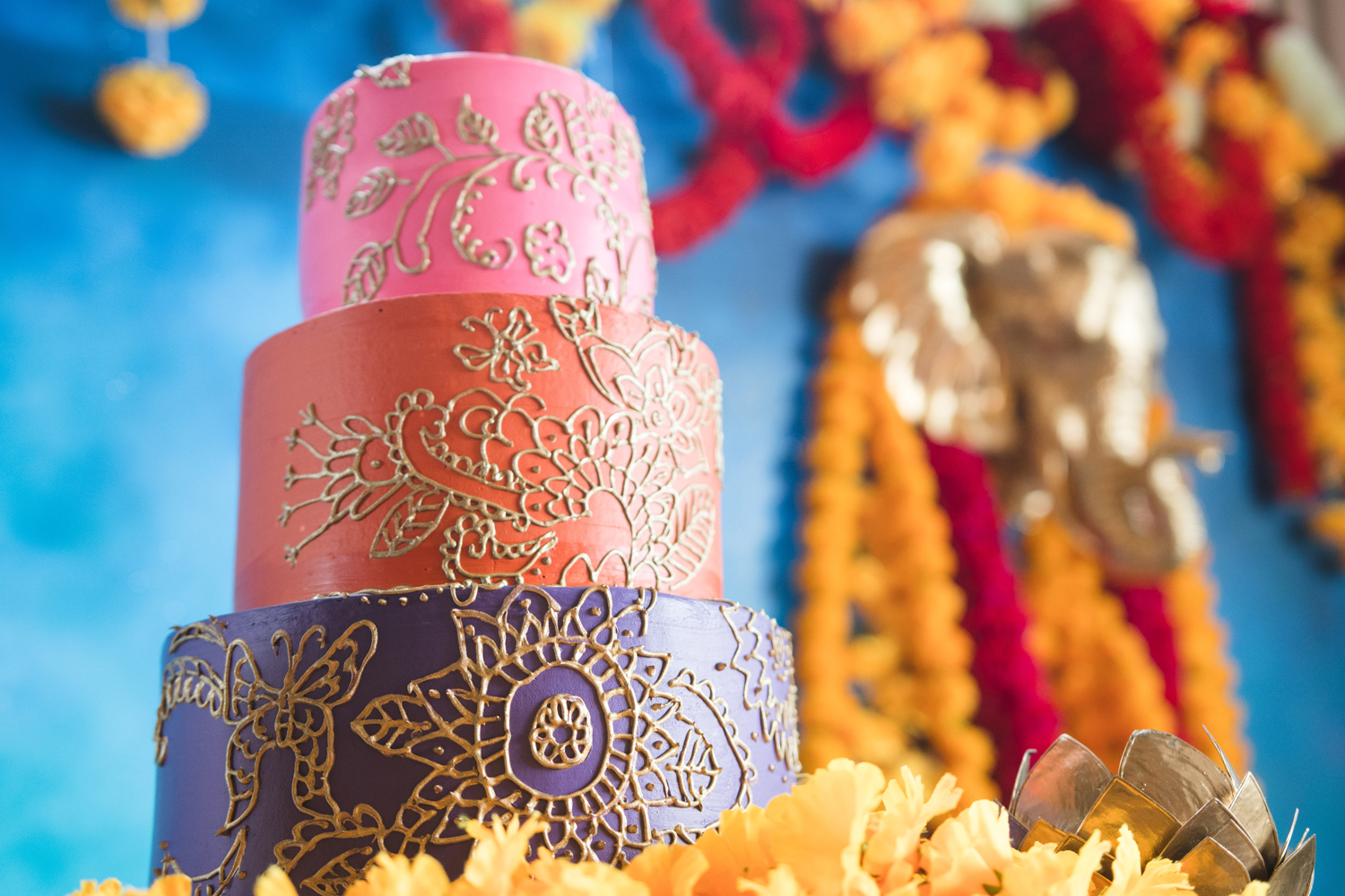 Moroccan Inspired Baby Shower Party detail on cake.jpg