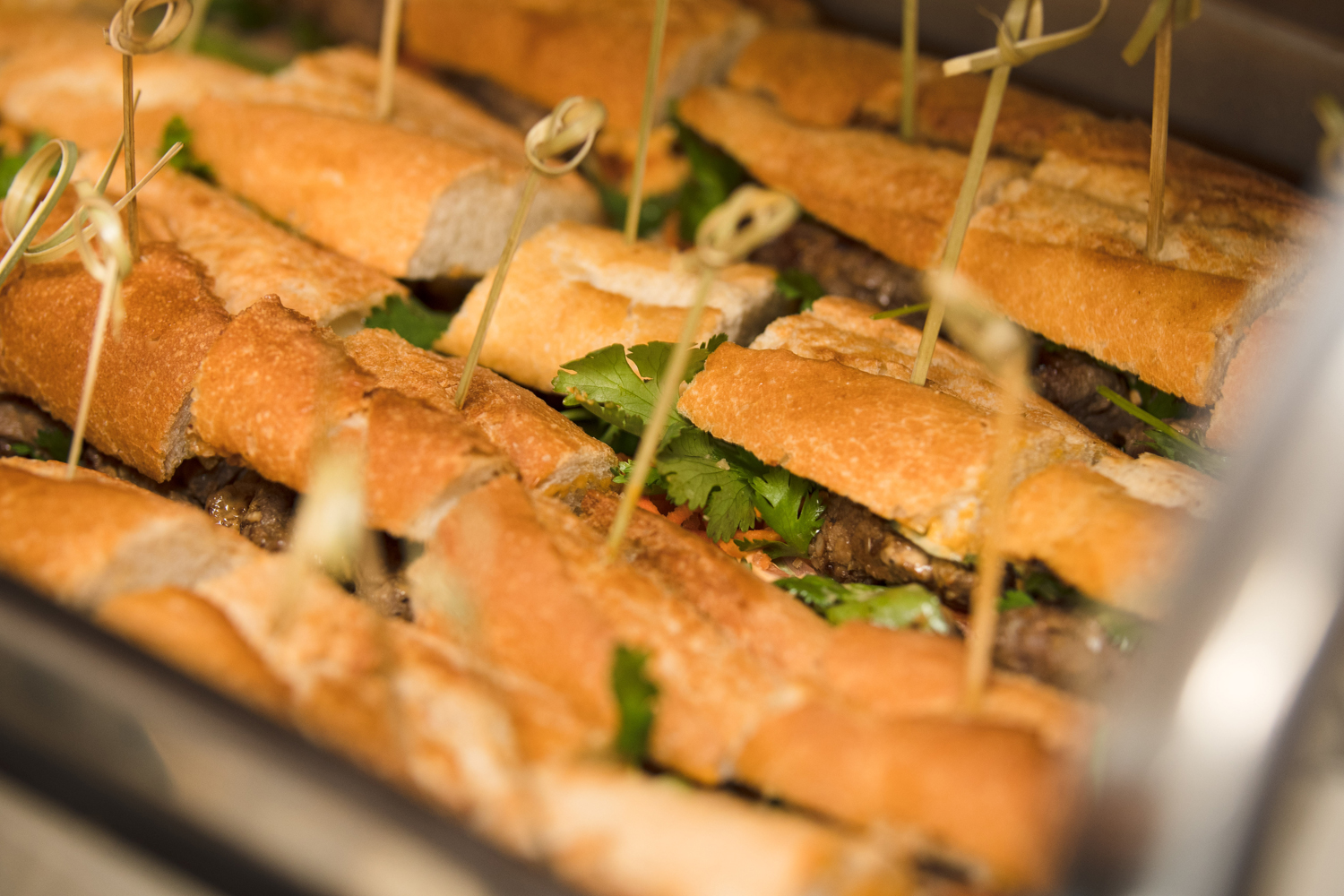 Moroccan Inspired Baby Shower Party beef sandwiches.jpg