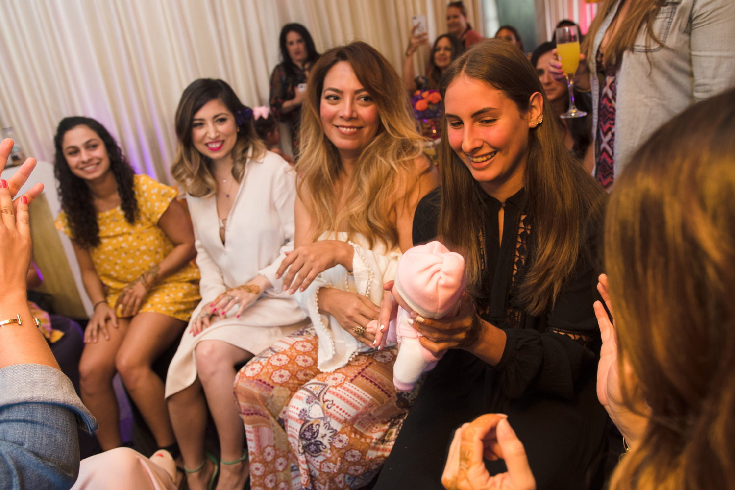 Moroccan Inspired Baby Shower Party pass the baby game.jpg