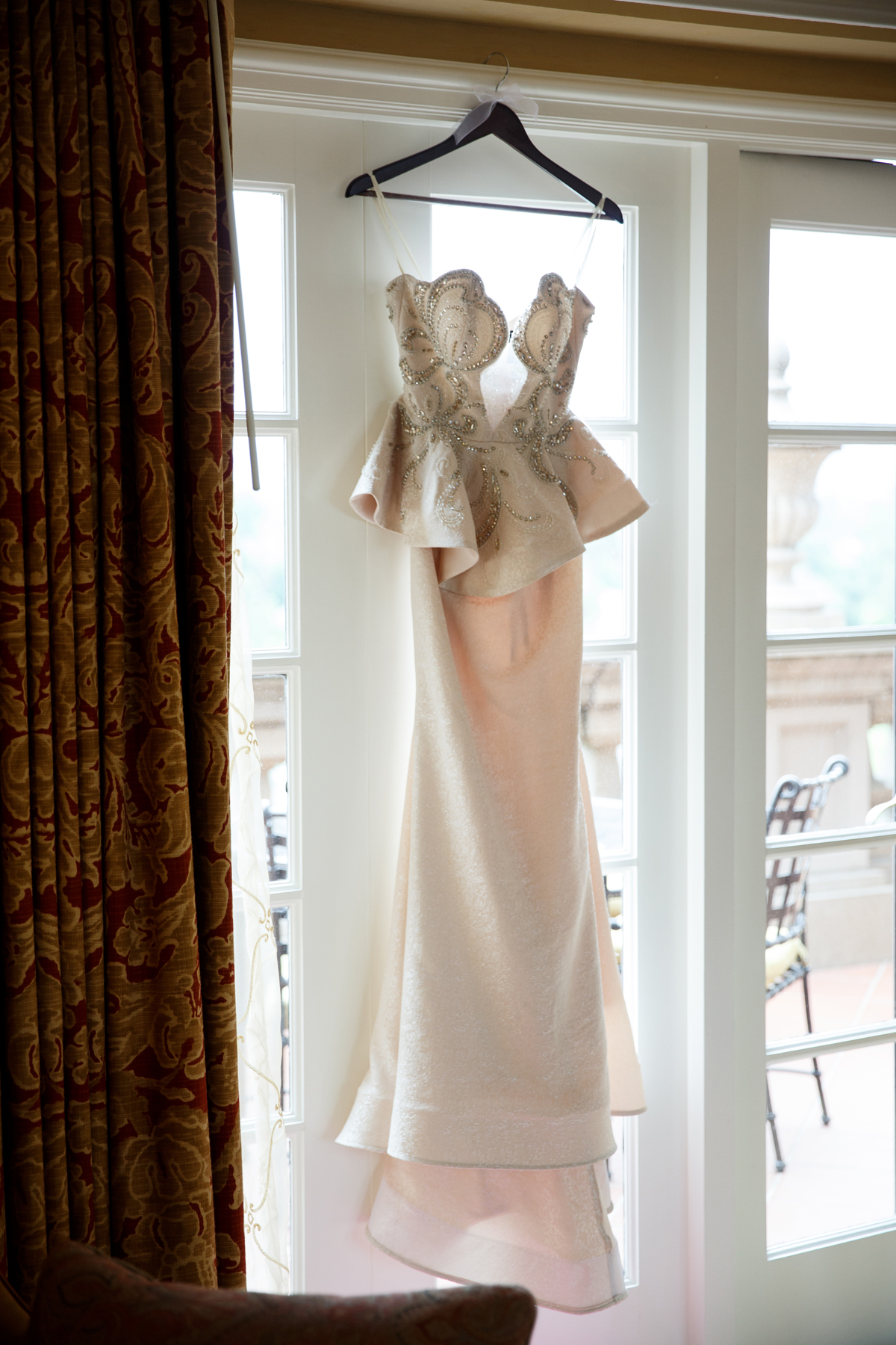 Elegant Pasadena Wedding to Make You Swoon made of honor dress.jpg