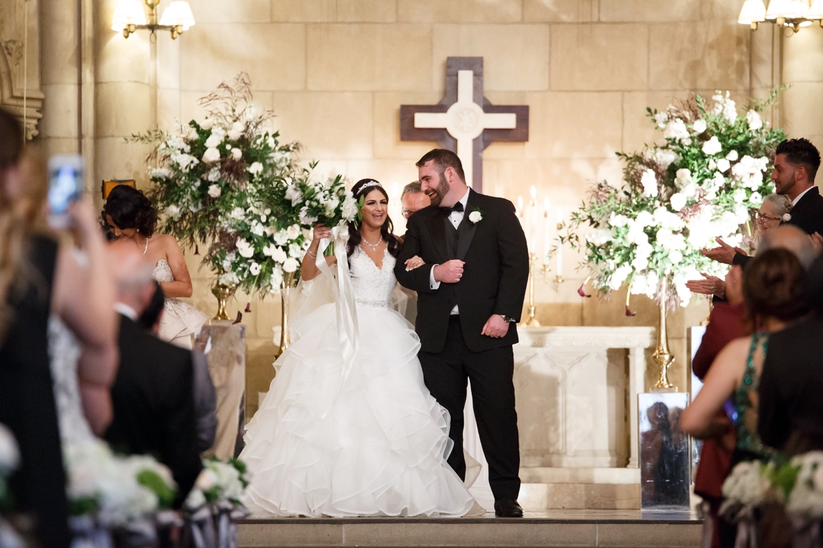 Elegant Pasadena Wedding to Make You Swoon bride and groom said i do.jpg