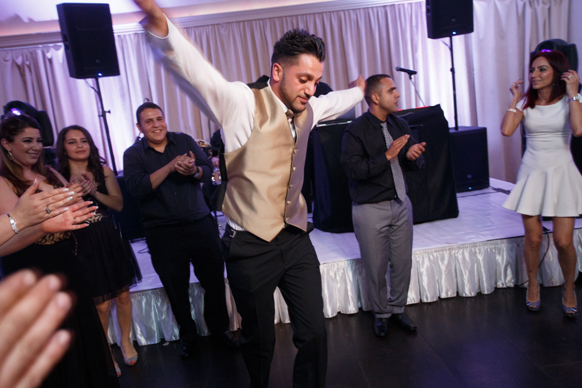 Elegant Pasadena Wedding to Make You Swoon best man dancing.jpg