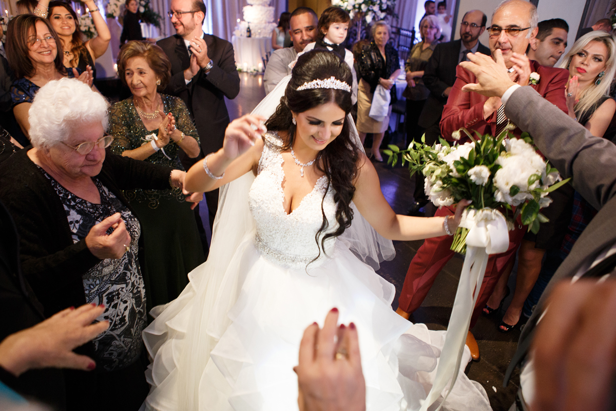 Elegant Pasadena Wedding to Make You Swoon bride dancing at reception.jpg