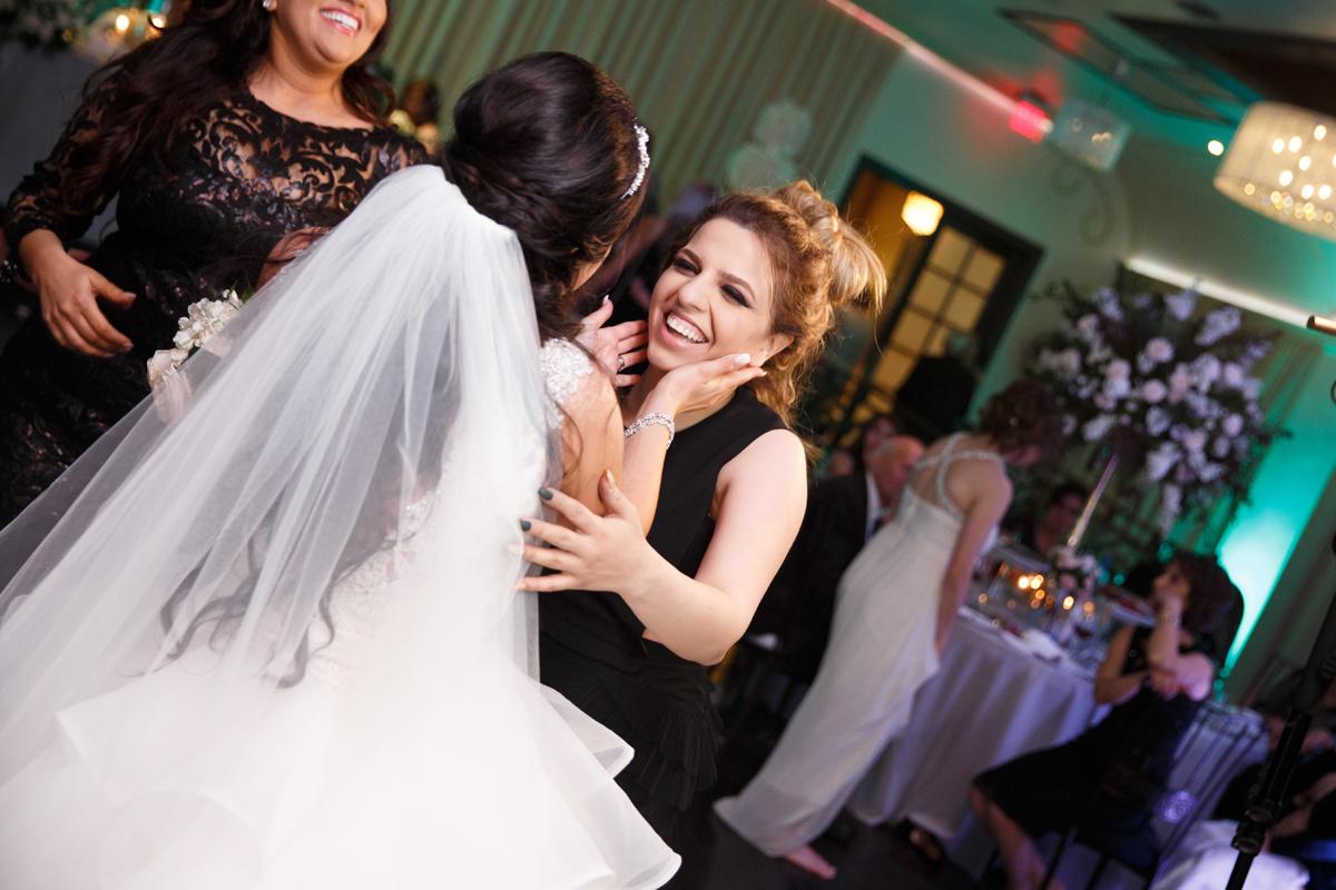 Elegant Pasadena Wedding to Make You Swoon bride and guest.jpg