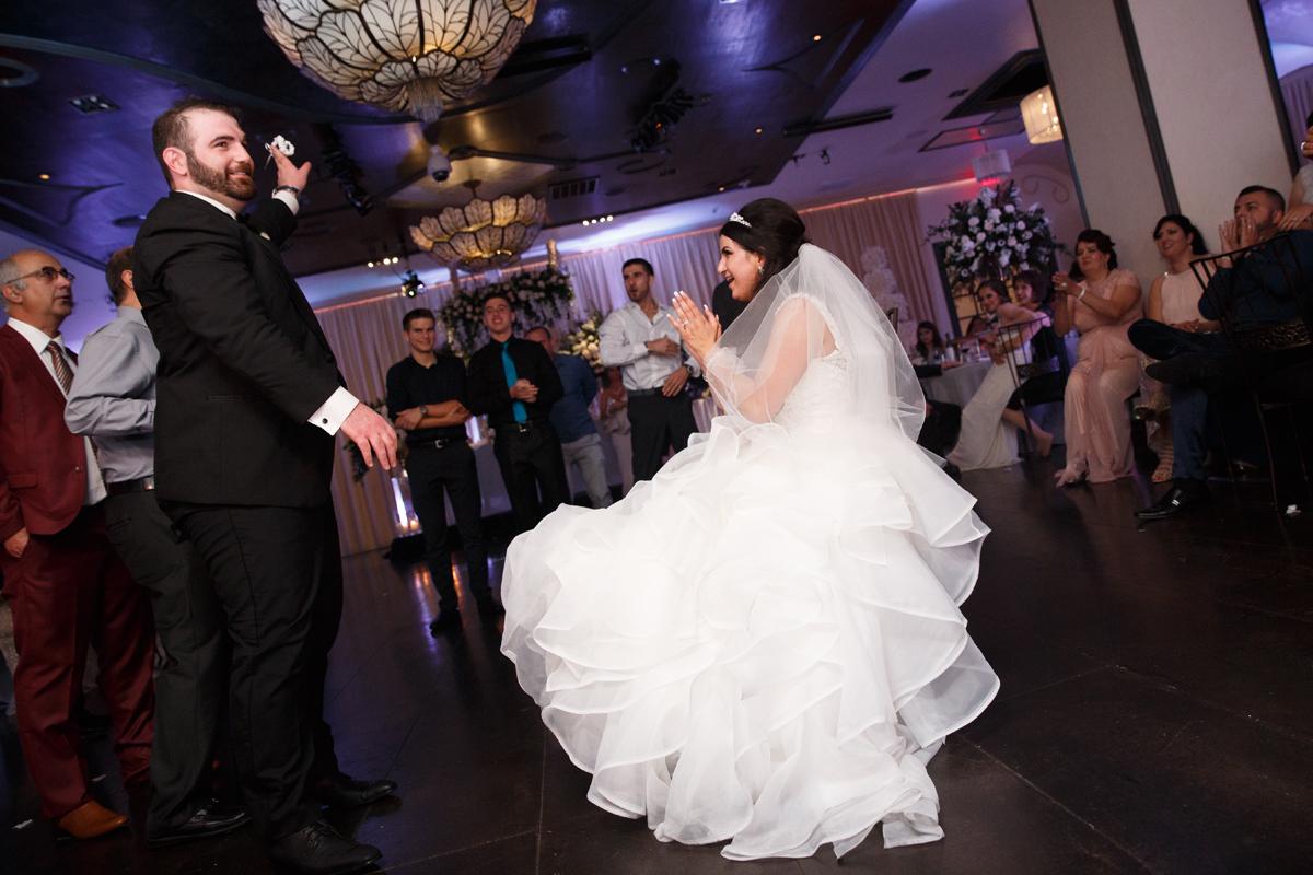 Elegant Pasadena Wedding to Make You Swoon groom with garter.jpg