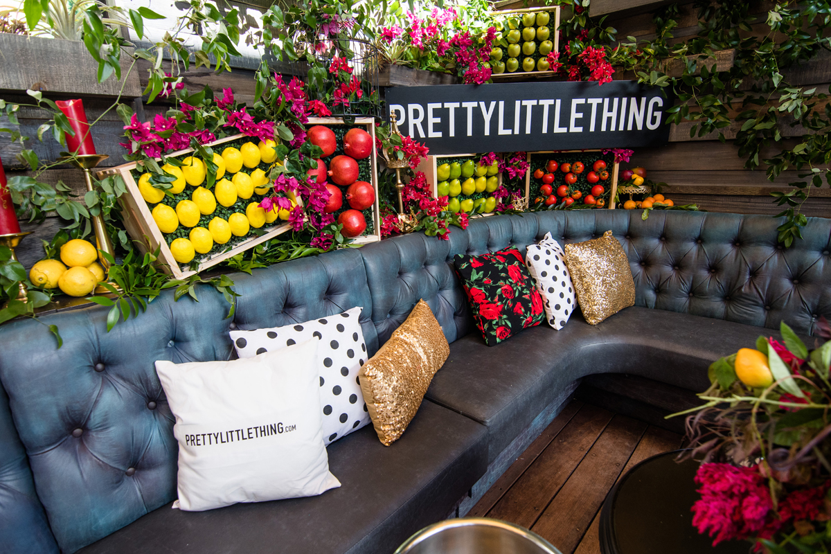 PrettyLittleThing PLT X Olivia Culpo Collection  Celebrity Launch Party fresh fruit and vegetables create an Italian market feel.jpg