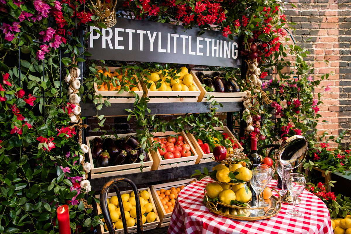 PrettyLittleThing PLT X Olivia Culpo Collection  Celebrity Launch Party table for two.jpg