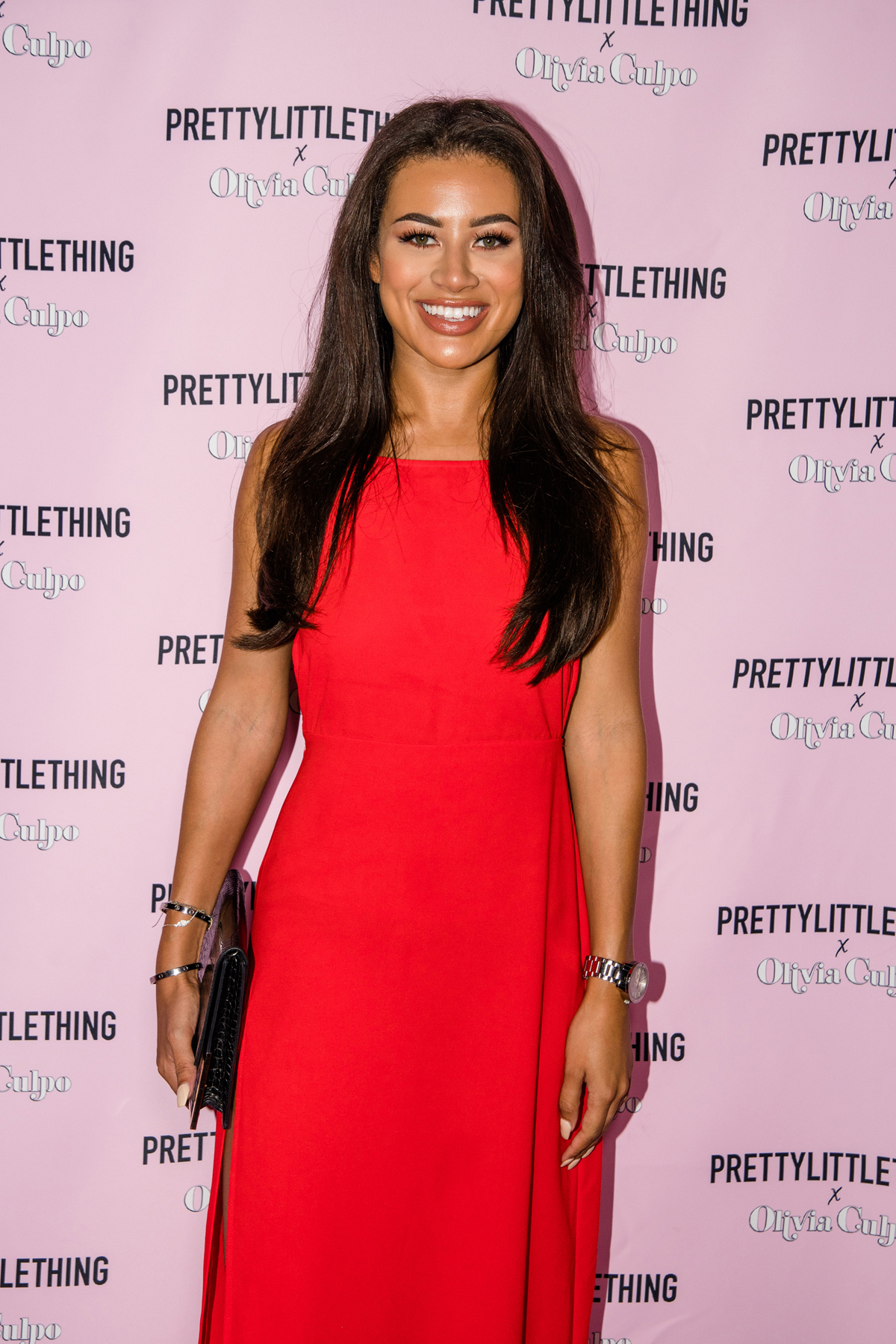 PrettyLittleThing PLT X Olivia Culpo Collection  Celebrity Launch Party Love Islands Montana Brown.jpg