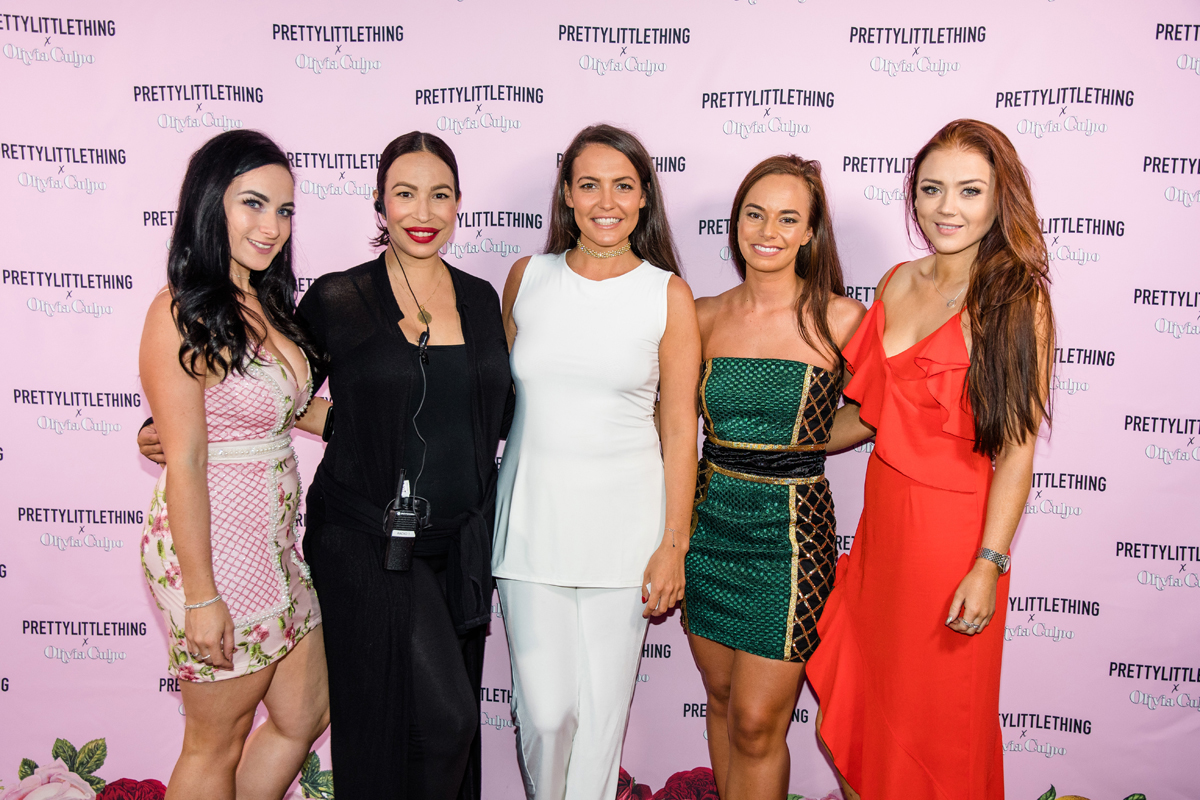 PrettyLittleThing PLT X Olivia Culpo Collection  Celebrity Launch Party Loriann and team.jpg