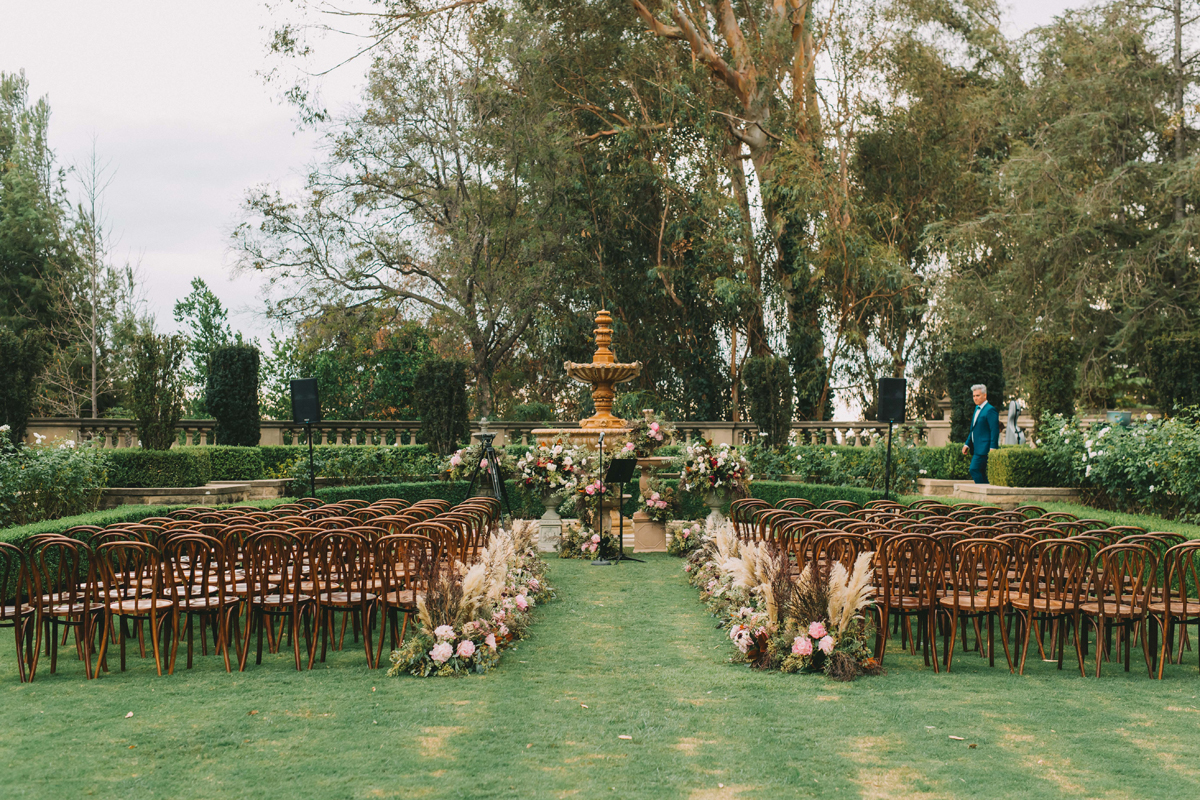 Breathtaking Contemporary Jewel Toned Fall Posh Wedding greystone mansion and gardens.jpg