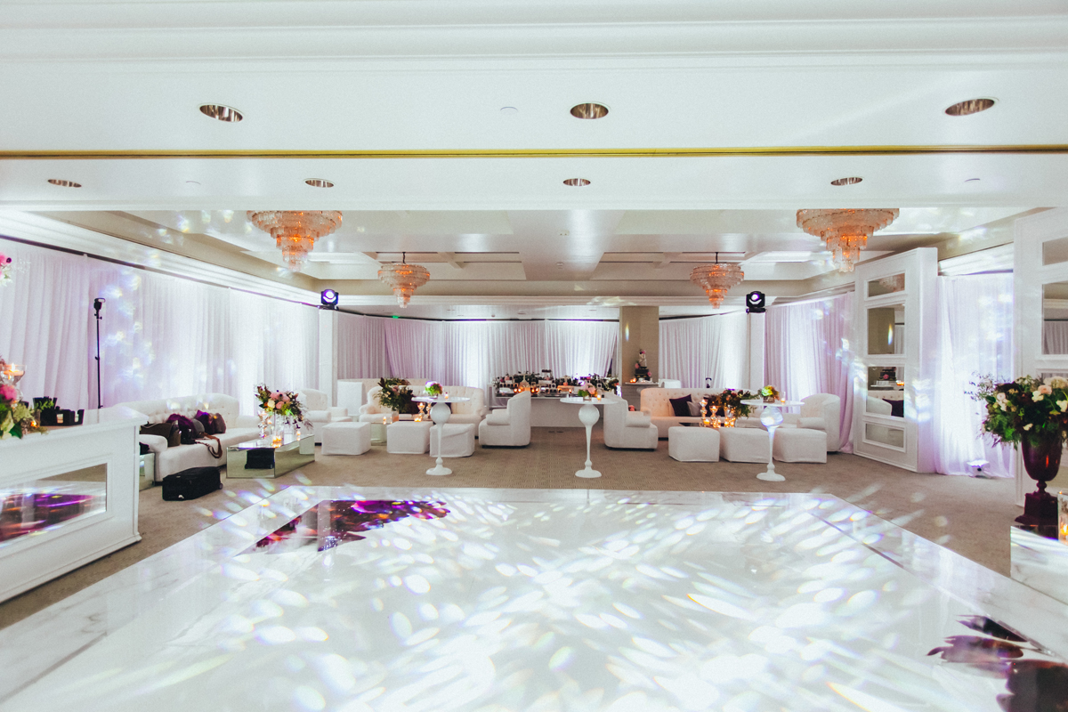 Breathtaking Contemporary Jewel Toned Fall Posh Wedding seating area and dance floor.jpg