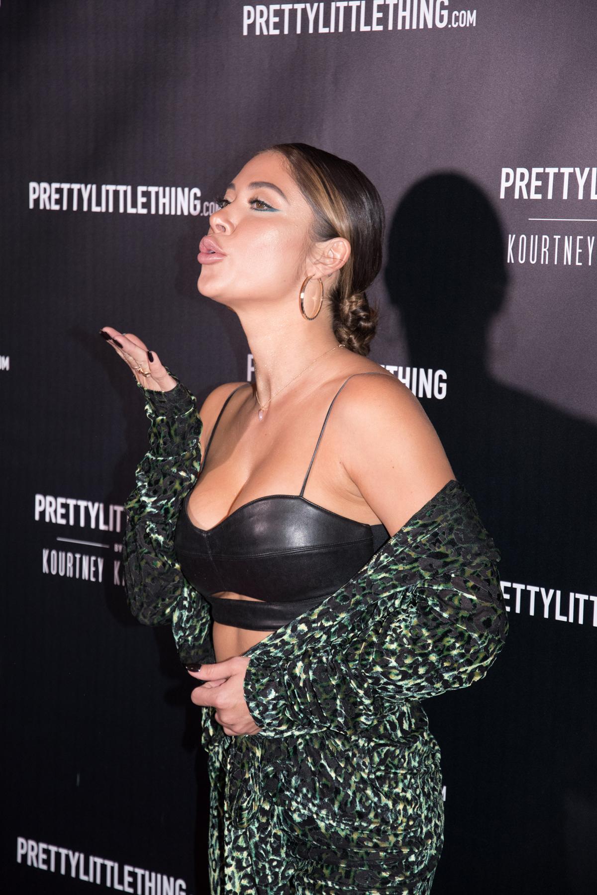 PrettyLittleThing PLT X Kourtney Kardashian Collection Celebrity Launch Party Arianny Celeste.jpg