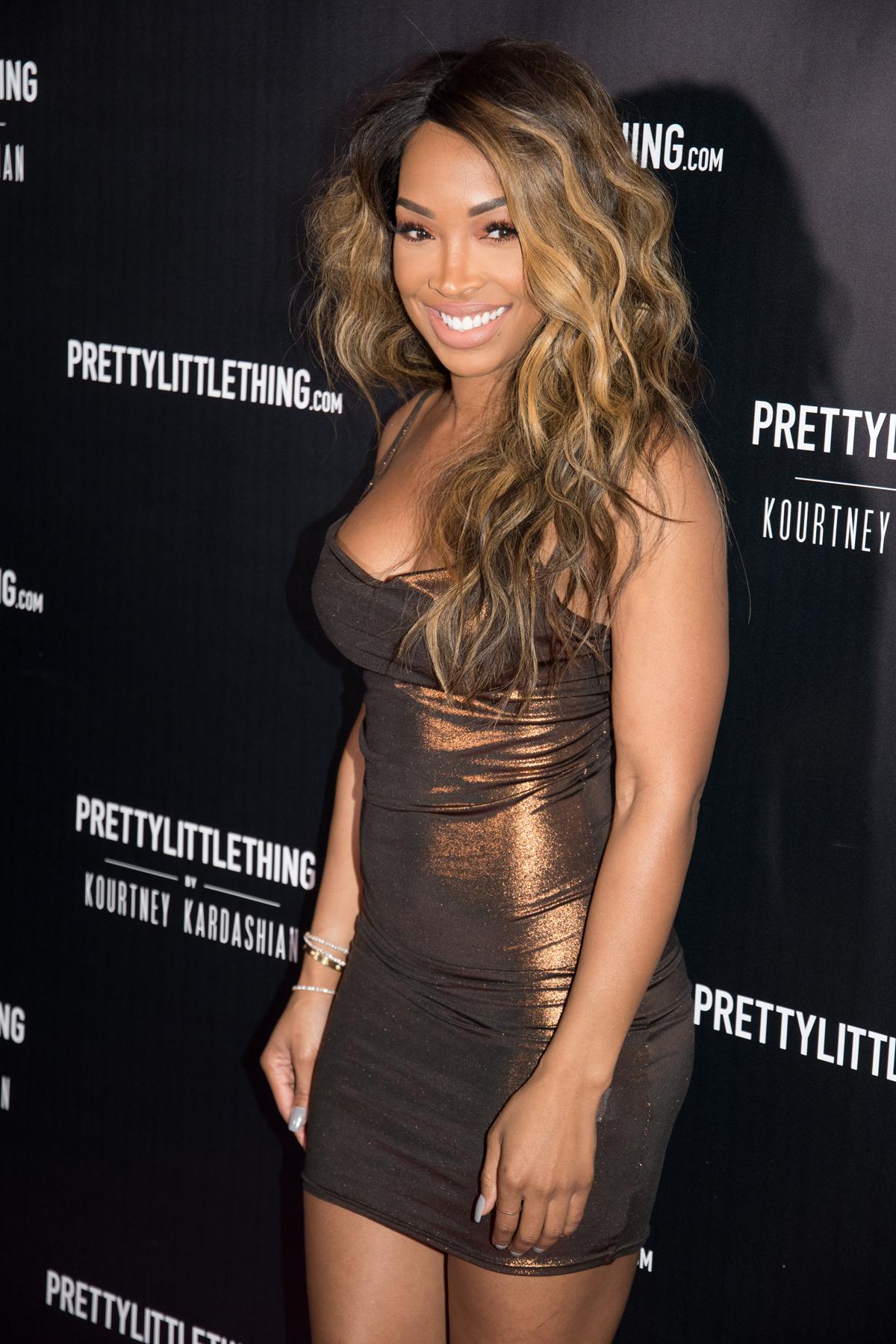 PrettyLittleThing PLT X Kourtney Kardashian Collection Celebrity Launch Party malika haqq.jpg