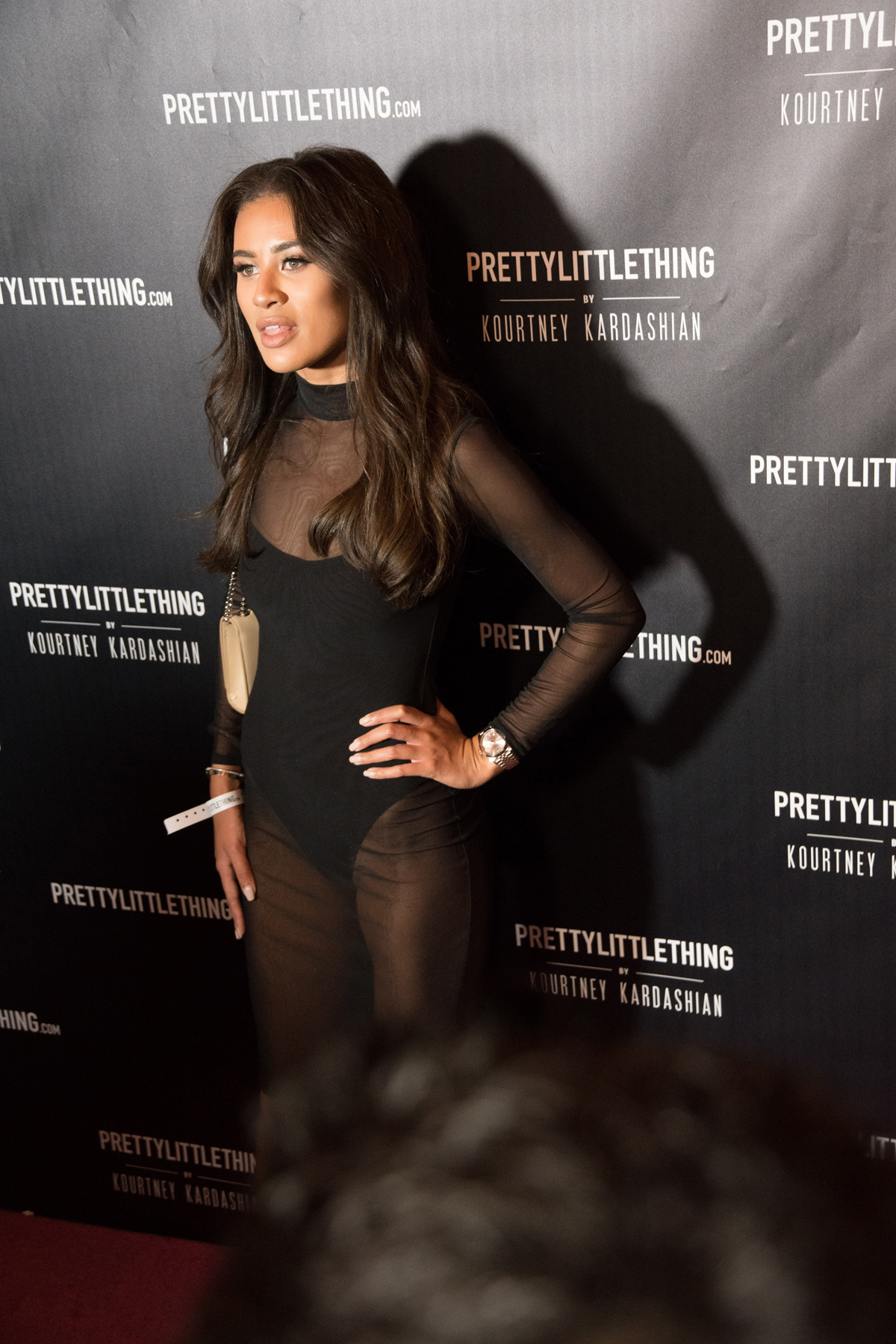 PrettyLittleThing PLT X Kourtney Kardashian Collection Celebrity Launch Party Montana Brown.jpg