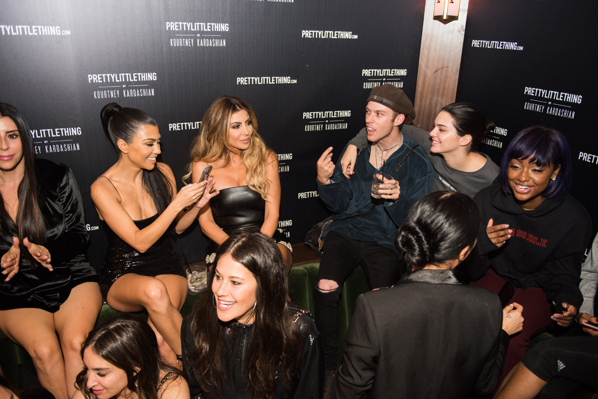 PrettyLittleThing PLT X Kourtney Kardashian Collection Celebrity Launch Party Kourtney and Kendall.jpg