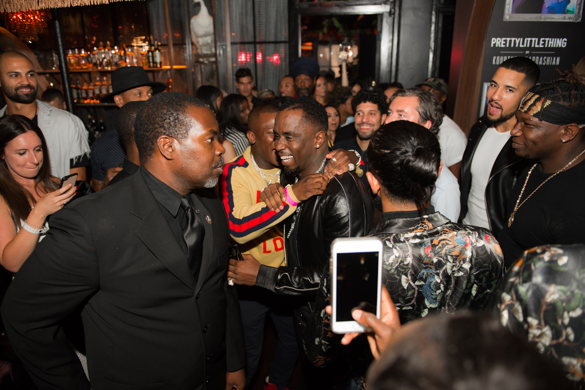 PrettyLittleThing PLT X Kourtney Kardashian Collection Celebrity Launch Party P Diddy and friends.jpg