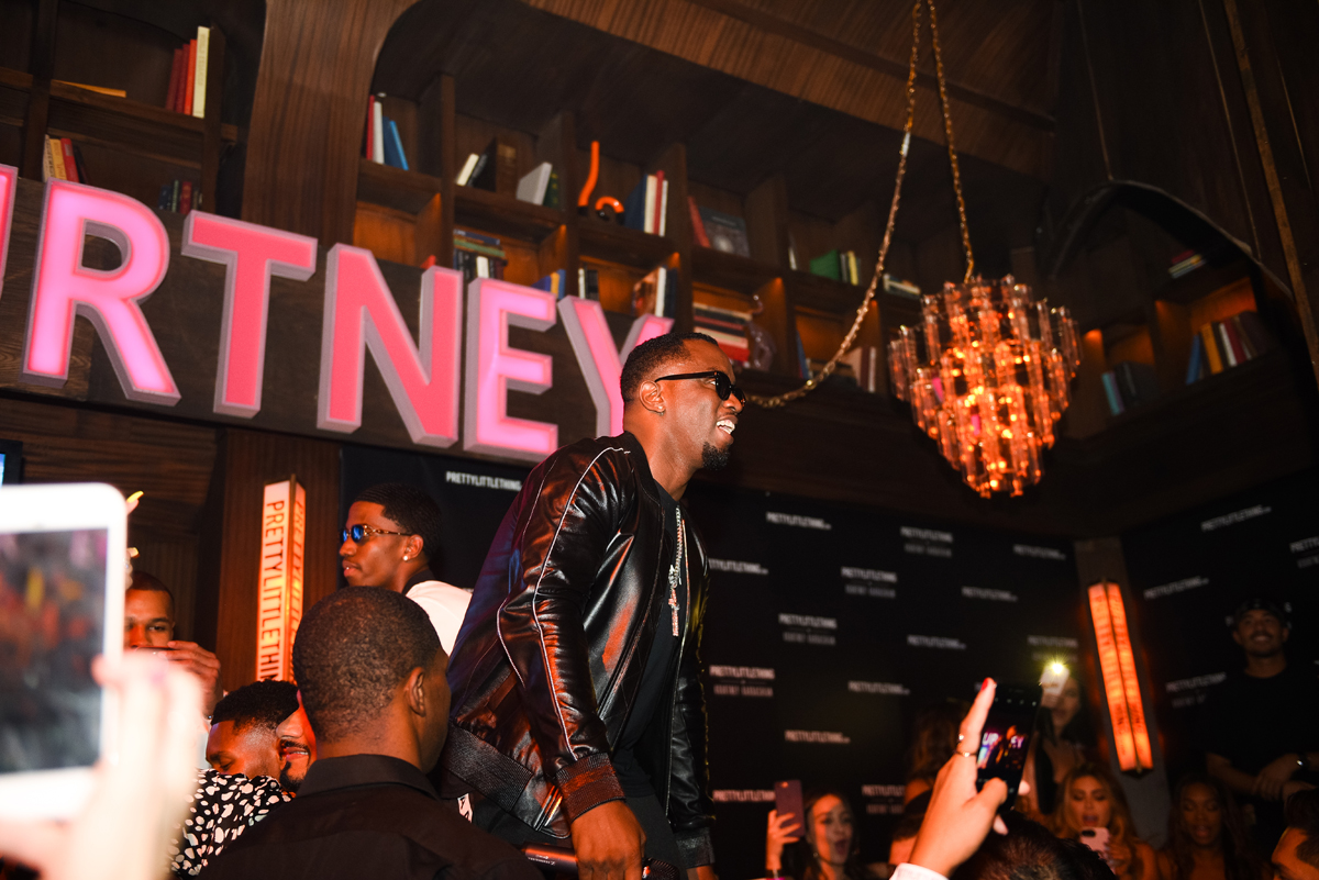 PrettyLittleThing PLT X Kourtney Kardashian Collection Celebrity Launch Party P Diddy performing 4.jpg