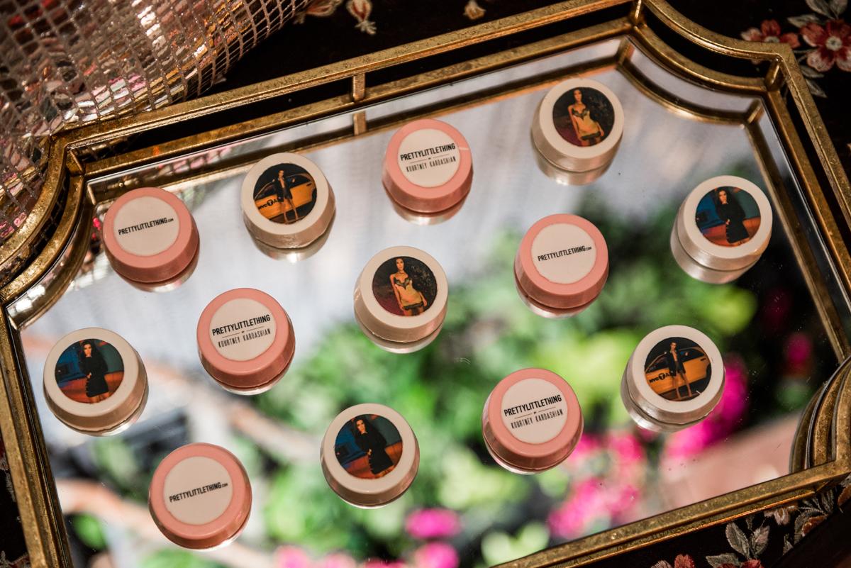 PrettyLittleThing PLT X Kourtney Kardashian Collection Celebrity Launch Party custom chocolate covered Oreos.jpg