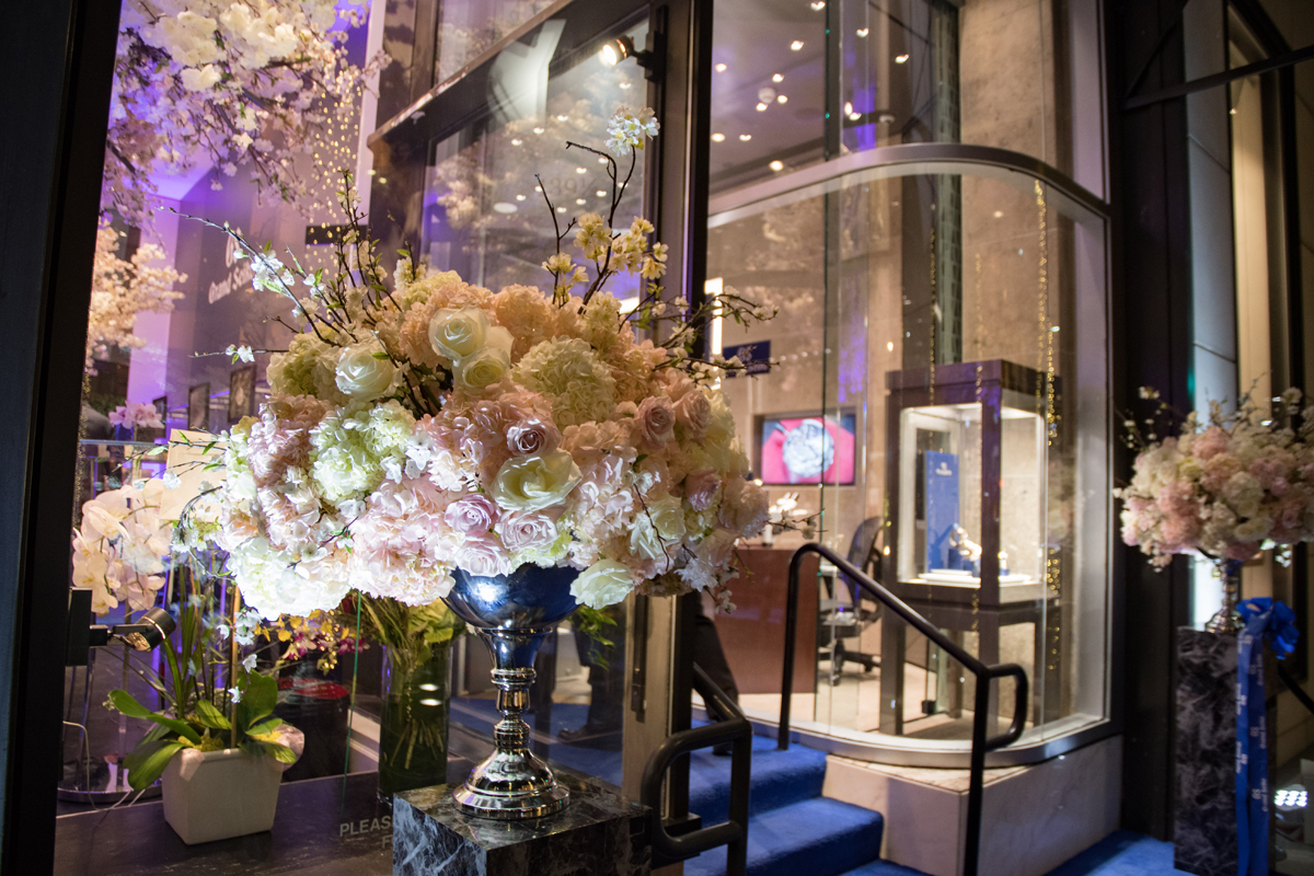 Grand Seiko Boutique Grand Affair Beverly Hills Store Opening Floral Arrangements Greet Guests.jpg