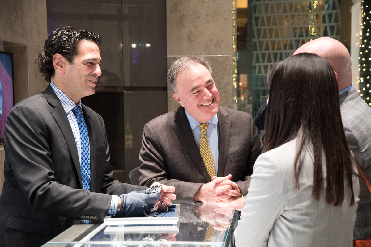 Grand Seiko Boutique Grand Affair Beverly Hills Store Opening Demonstration by Spring Drive Master watchmaker.jpg
