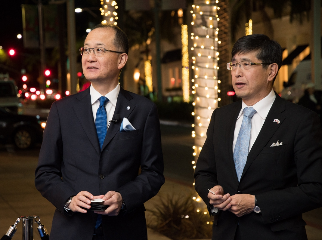 Grand Seiko Boutique Grand Affair Beverly Hills Store Opening President and COO Shuji Takahaski and Los Angeles Consul General Akira Chiba.jpg
