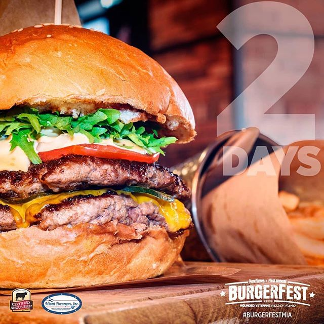 Burgefest is almost here. Ticket link in BIO @miaminewtimes #burgers #miamievents #foodie #meatandtwobuns #wynwood