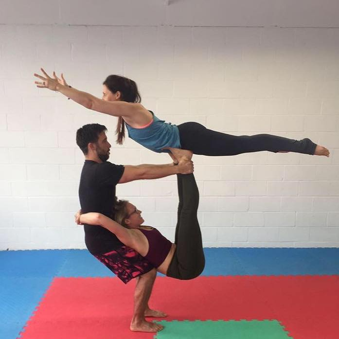 Acro Yoga with Erin Miller from Arise True Yoga -