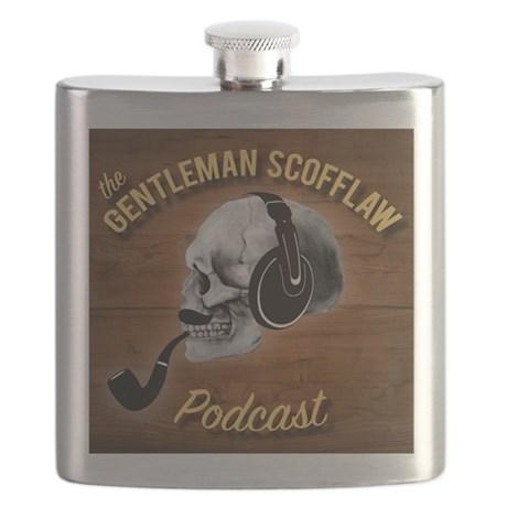 Gentleman Scofflaw Hip Flask