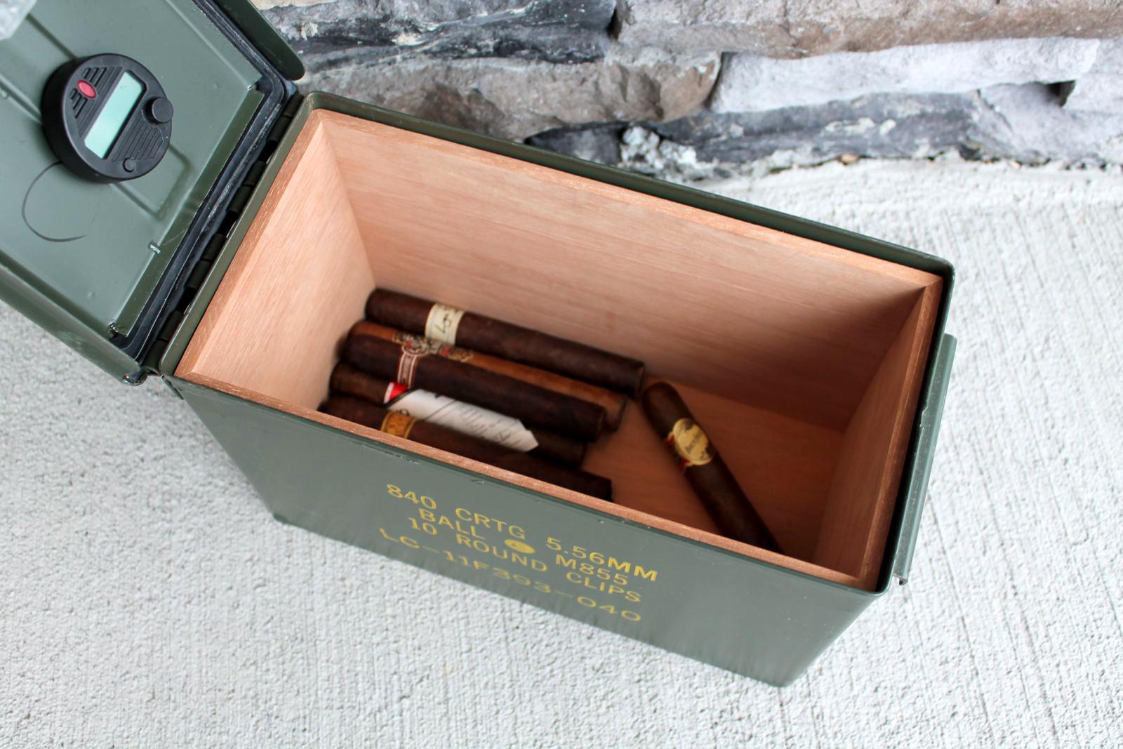 Ammodor Ammo Can Cigar Humidor