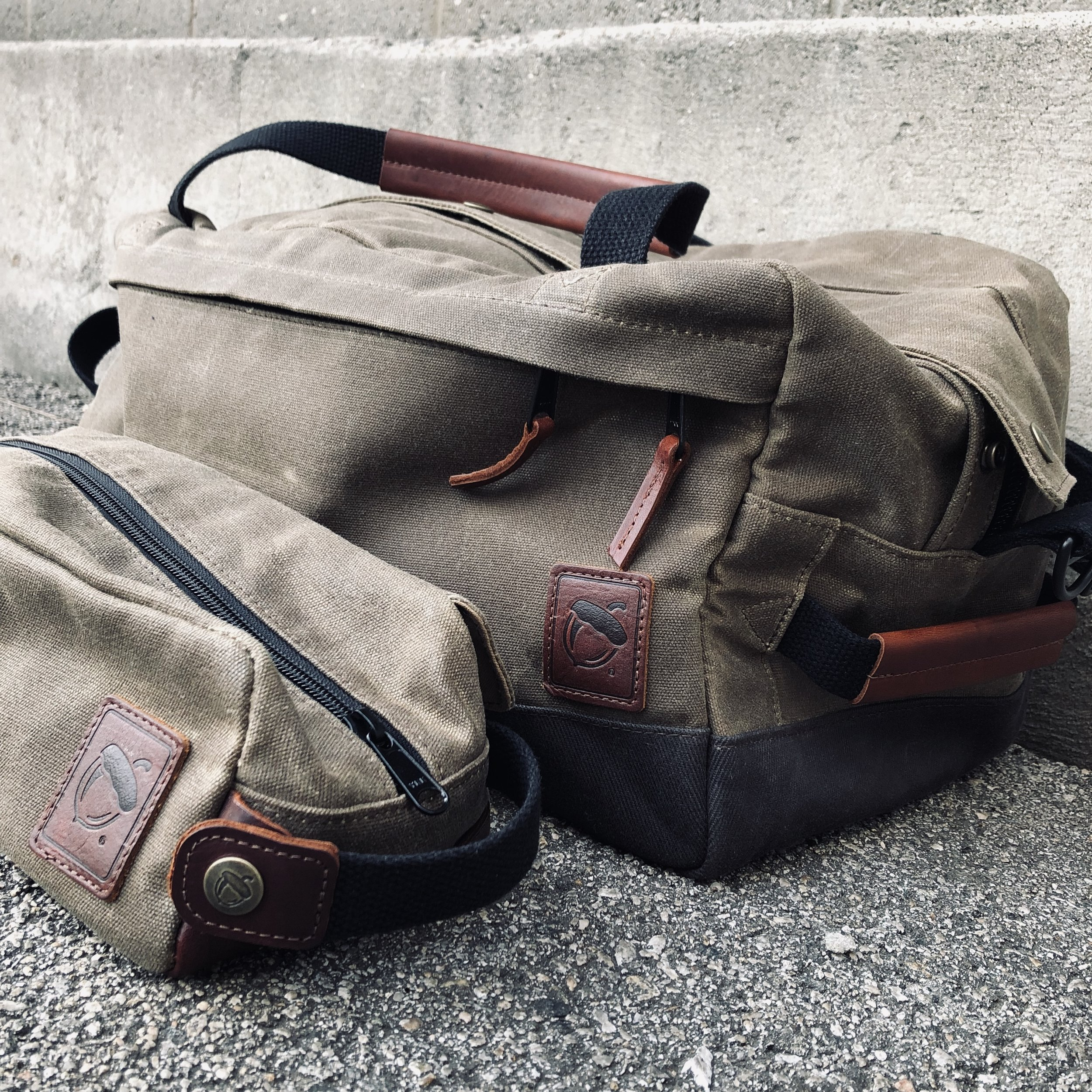 NutSac Duffel and Dopsac