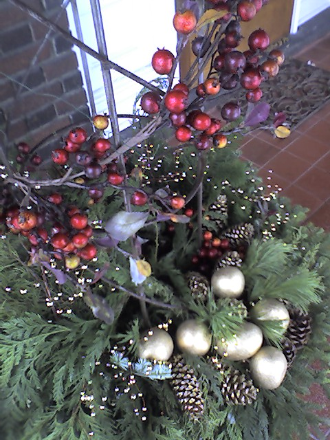 Holiday Decorations with Gardenalia