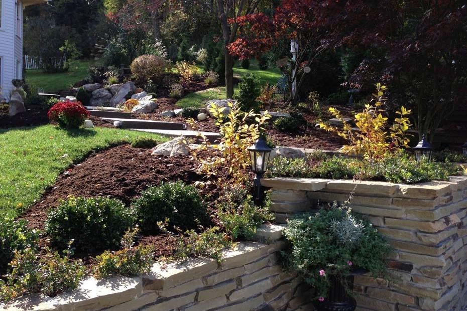 Mulched Garden Bed