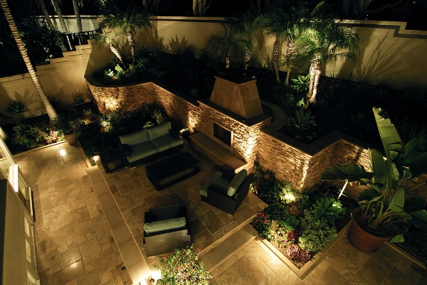 Landscape Lighting - We design and implement gorgeous lightscapes that showcase and enhance your outdoor space. Our beautiful fixtures are also rugged, suitable for any weather or environmental conditions.