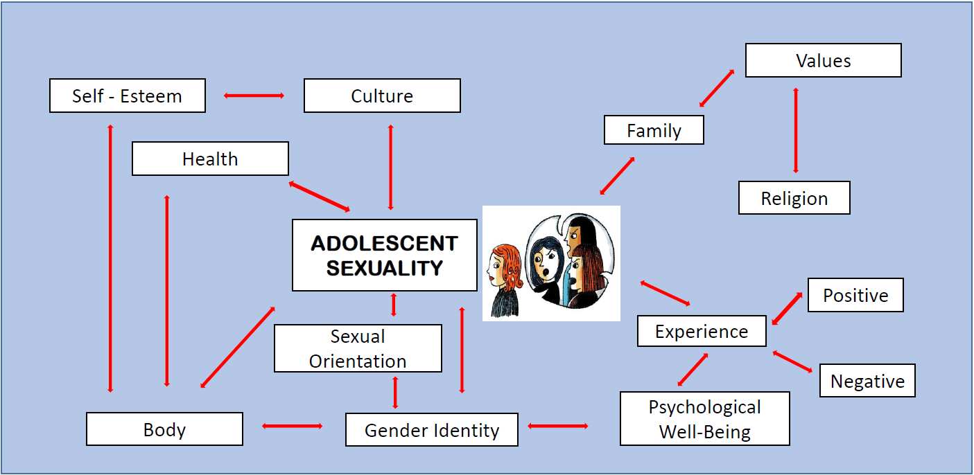 Figure 1: Social and Cultural Influences on Adolescent Sexuality