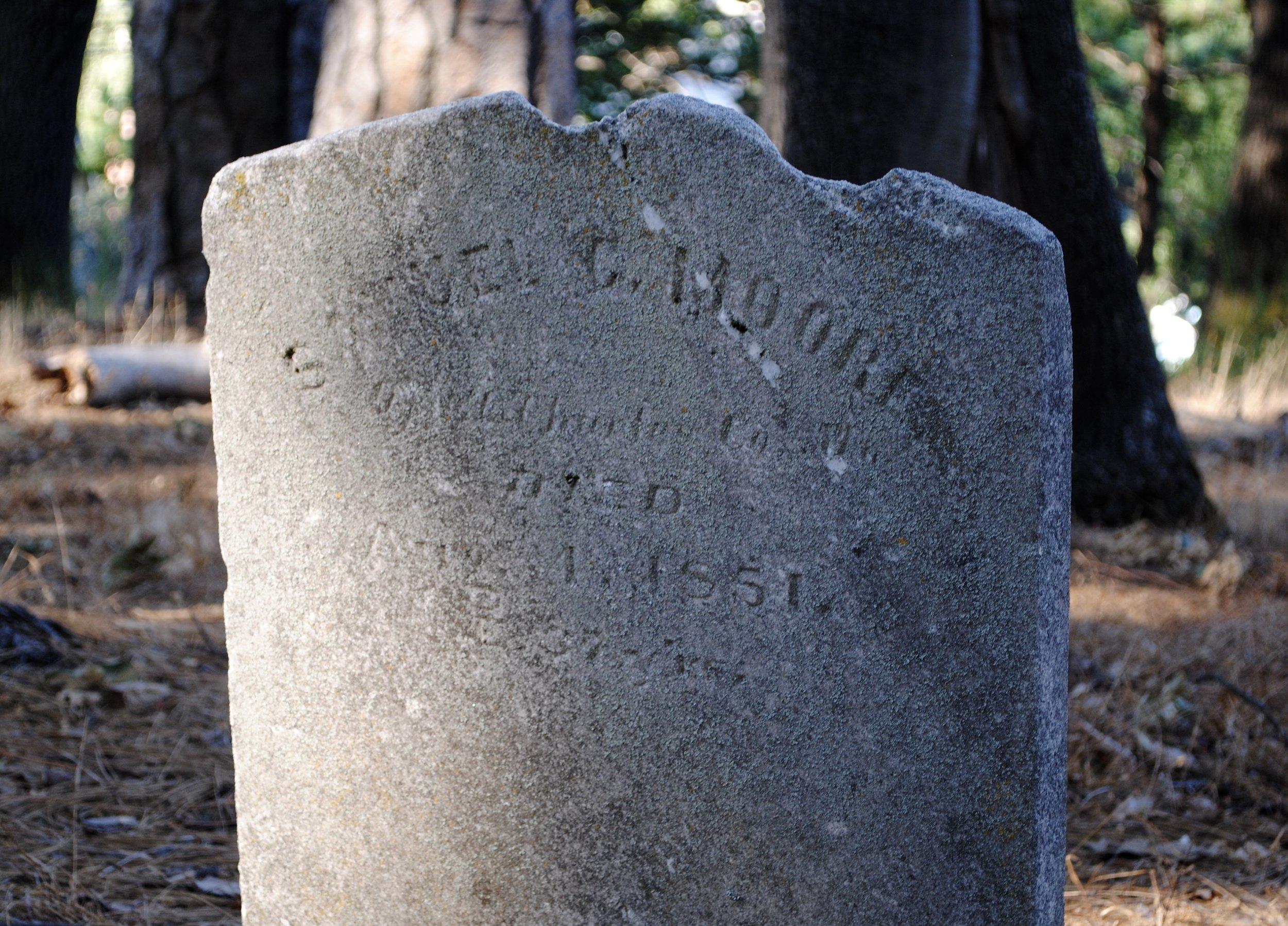 ....Samuel G. Moore, 1851, 37 years....