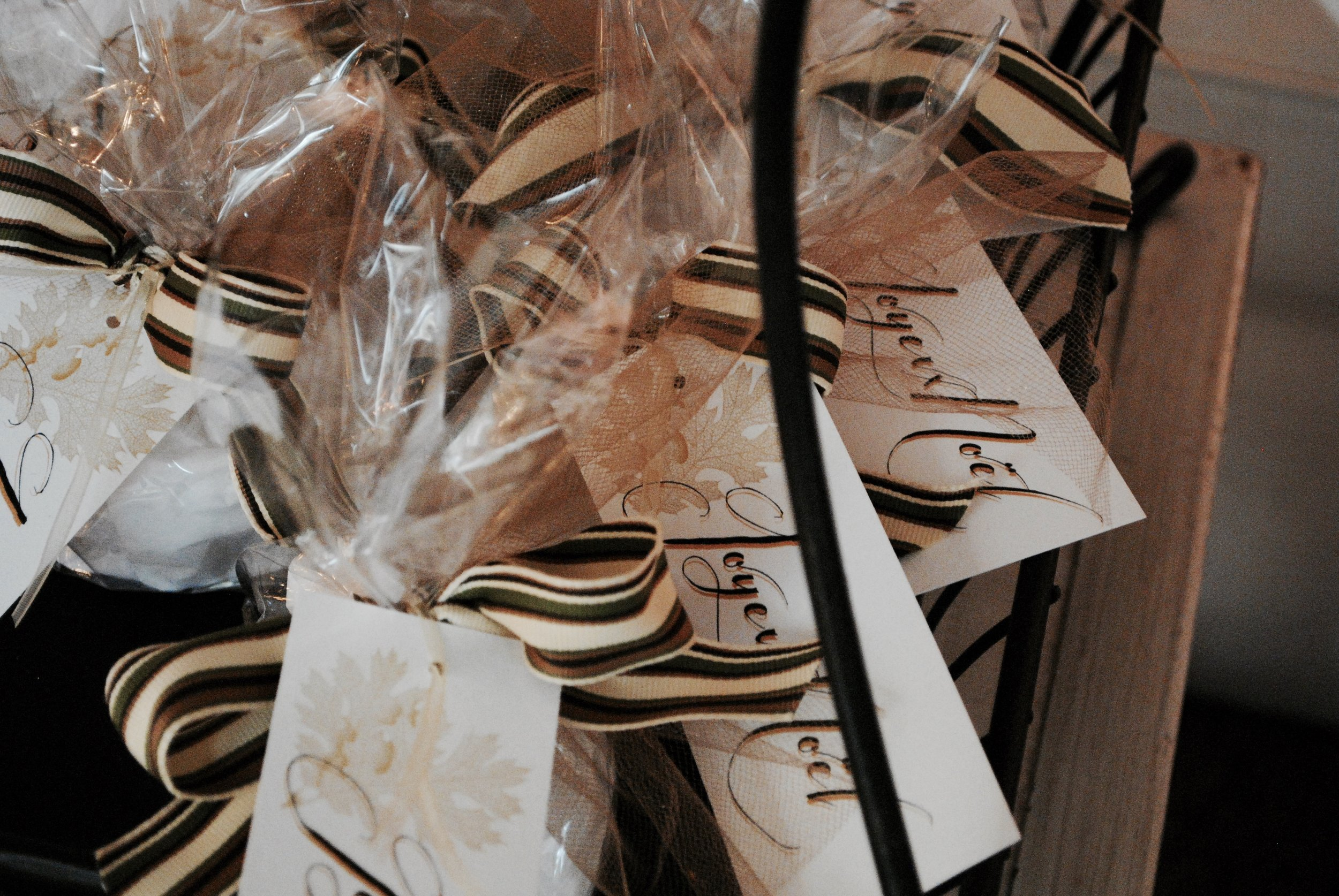 Joyeux Noel! Little packages ready for delivery.