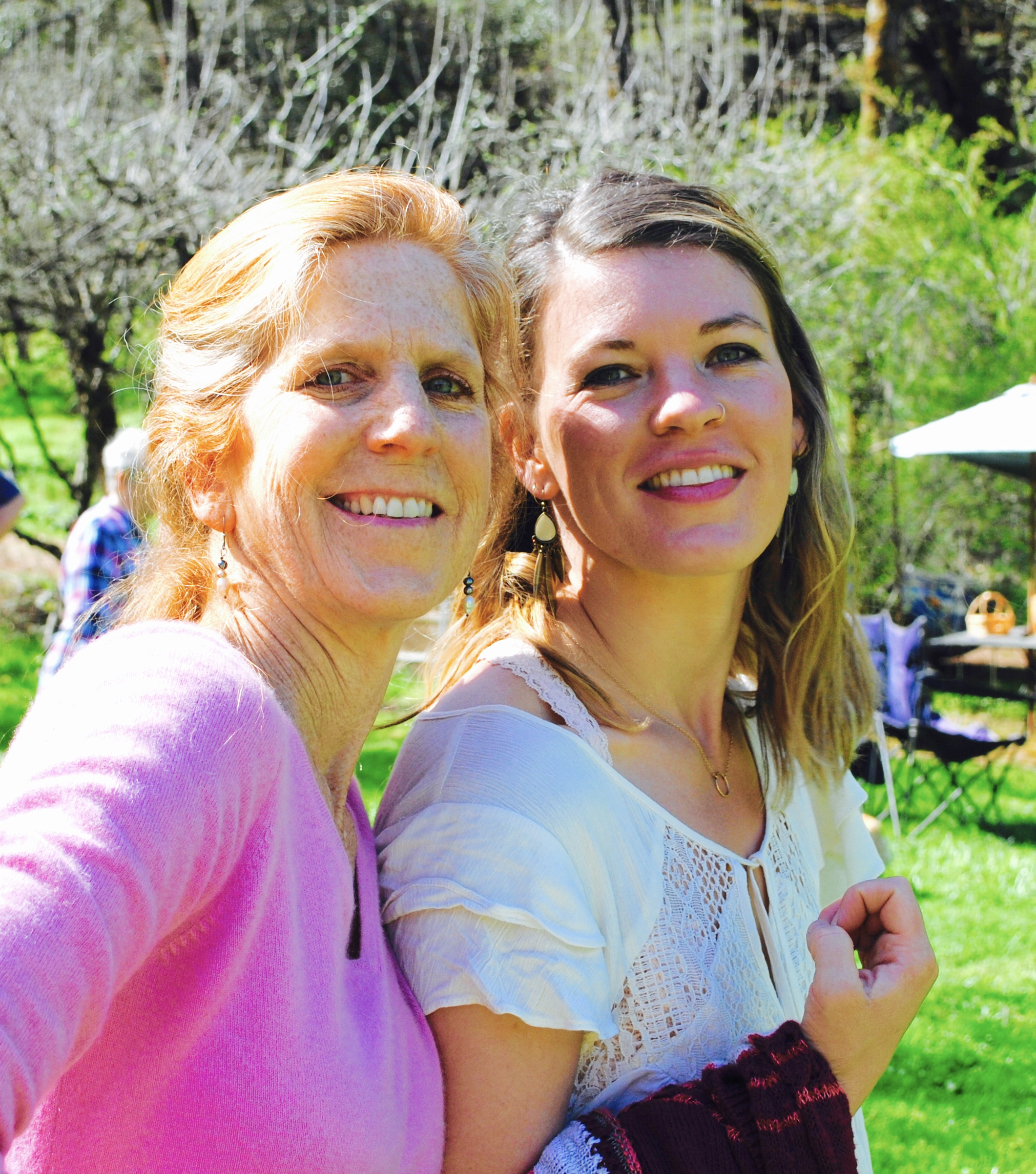Susan and her daughter Erica.