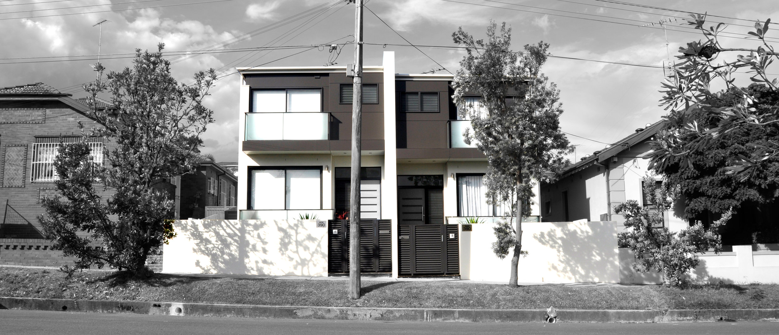 Duplex at Maroubra Beach