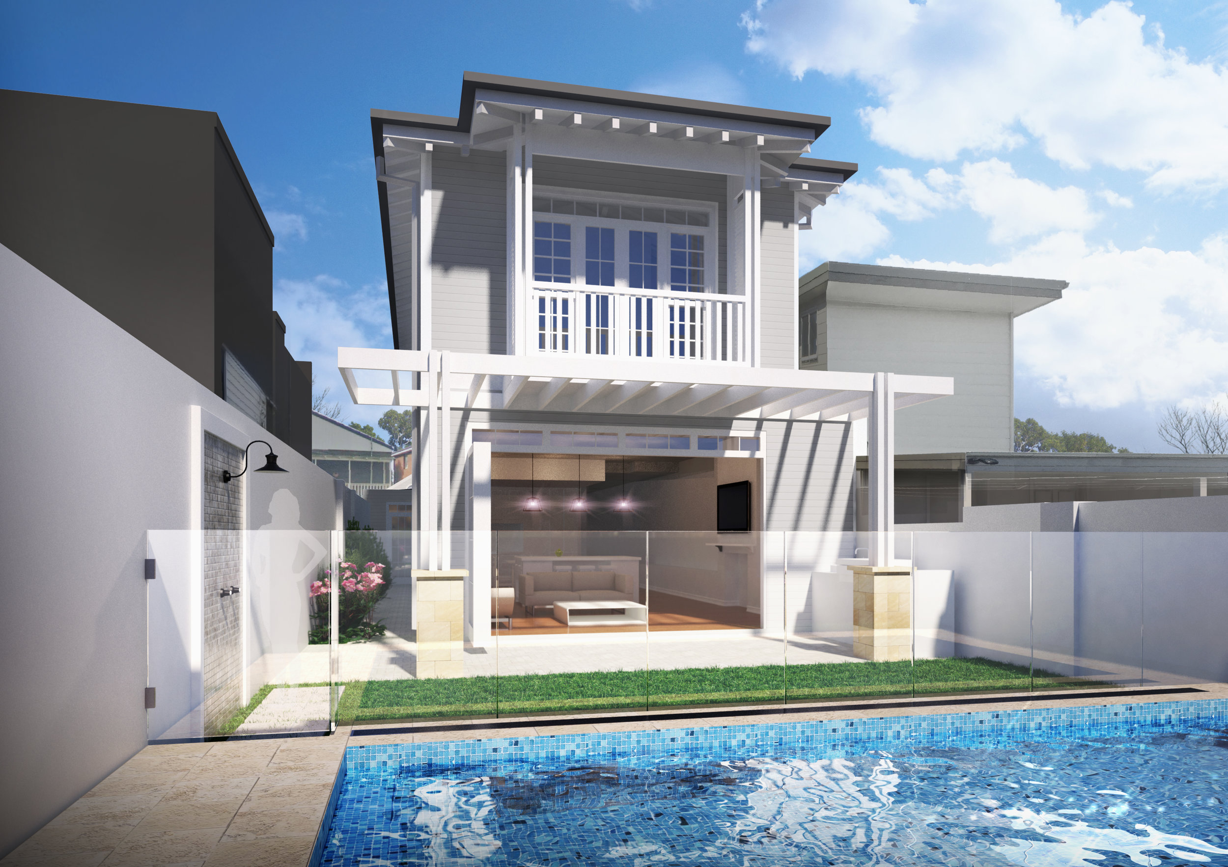 Semi detached at Clovelly