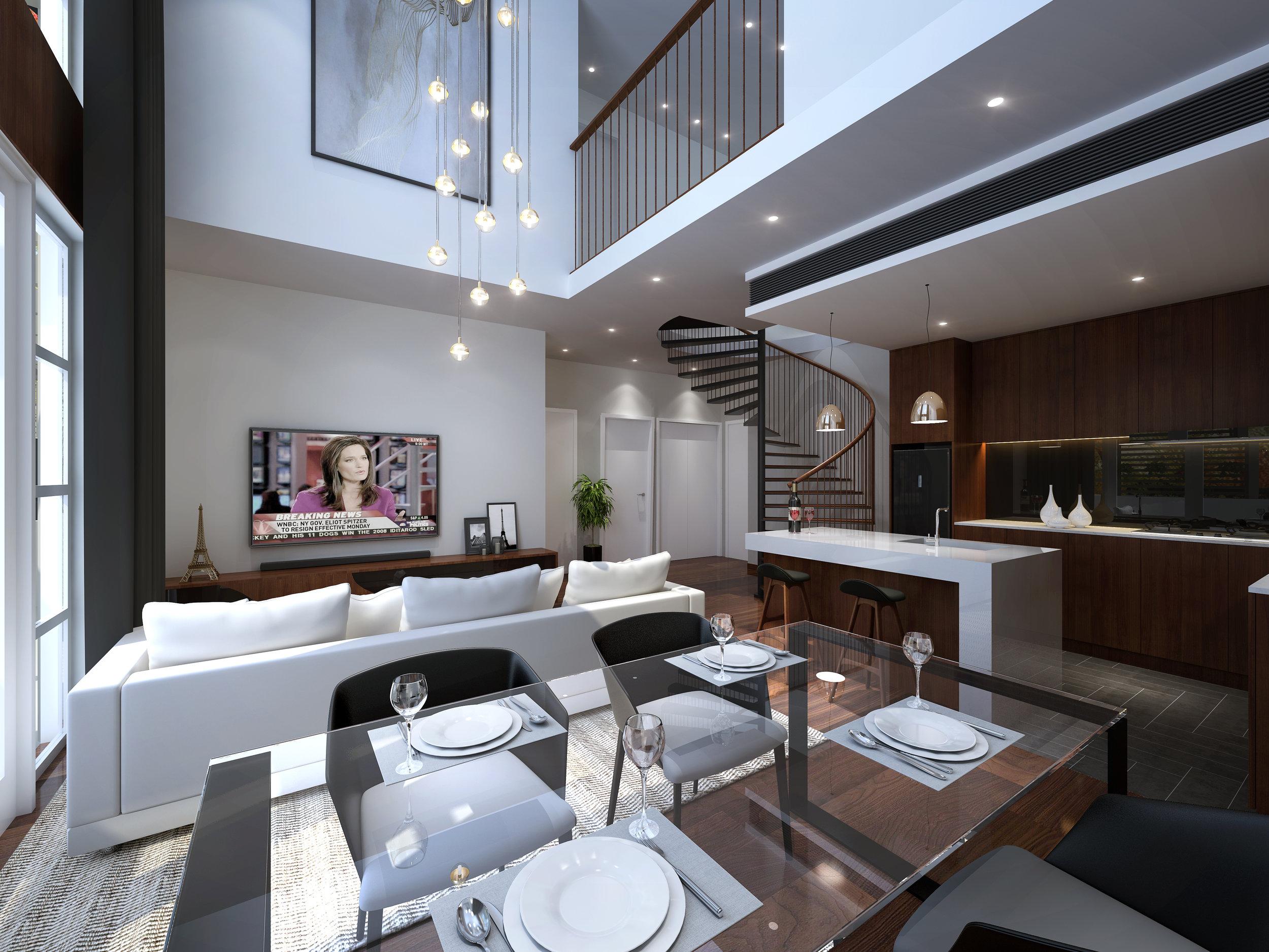 Redcliffe Apartments Stage 1 Interior Design