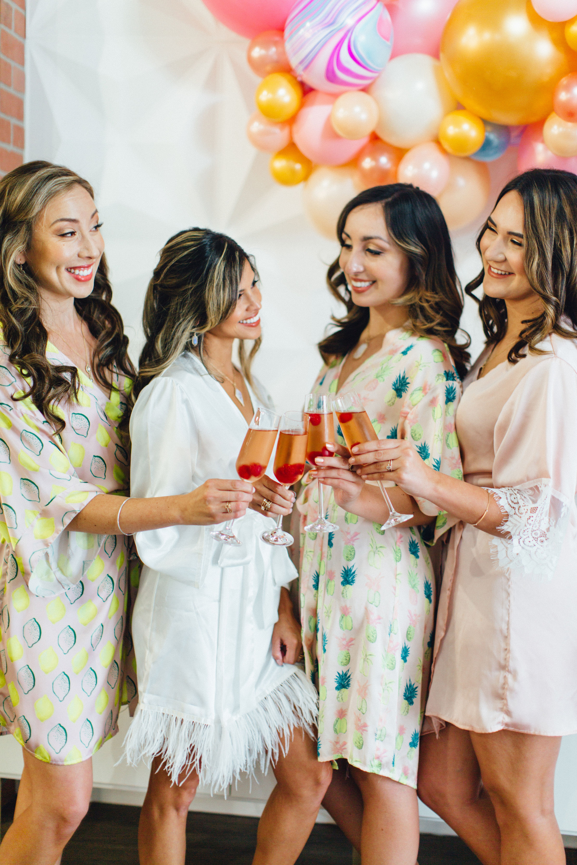 "Girl Squad Bridesmaid Brunch at the Gala - ""Artists Arielle Abelon and Jessica Katelynn Clark made sure hair and makeup were styled to perfection""-Published in The Perfect Palette, February 2019Read the Article Here"