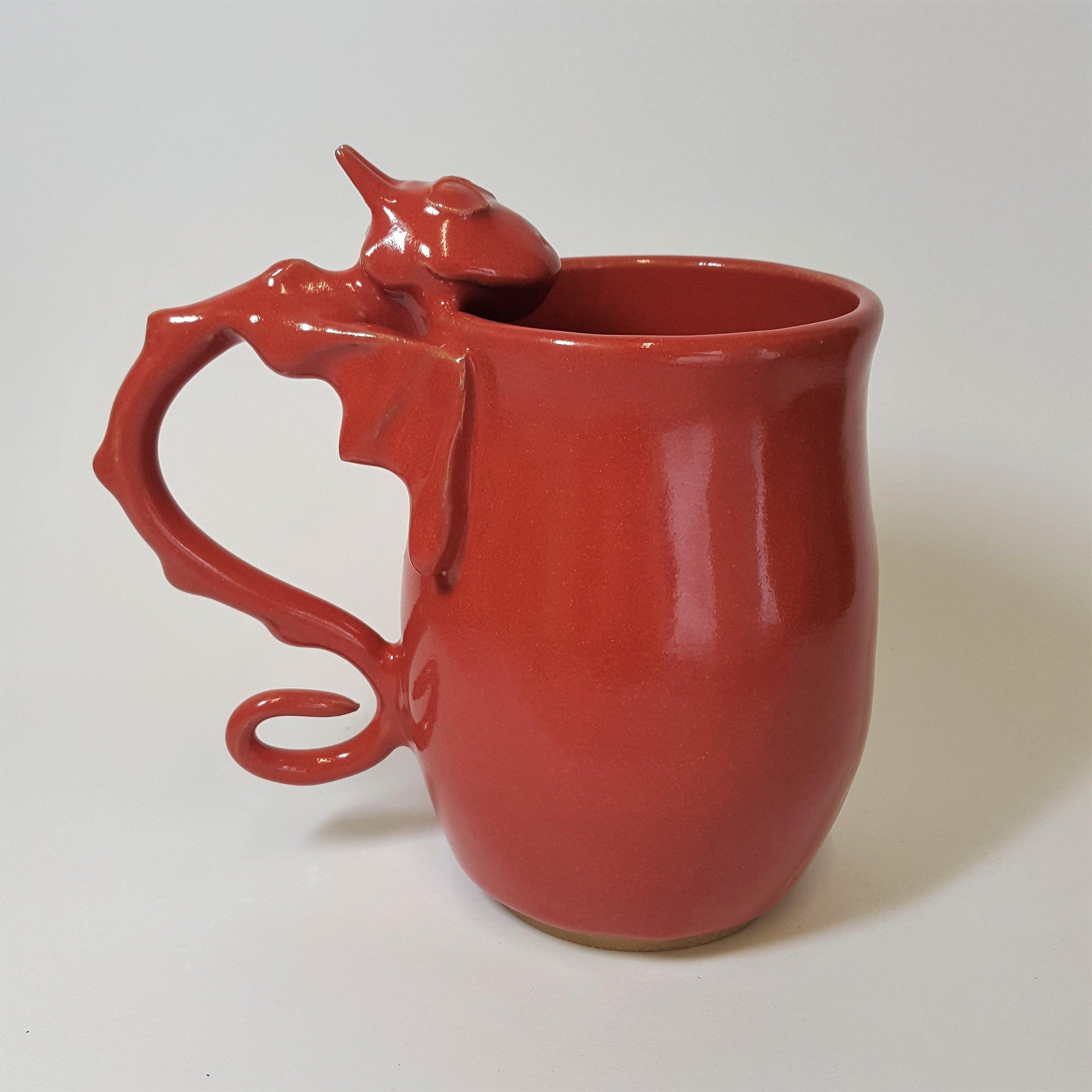 22 oz. Red Dragon Mug - $65